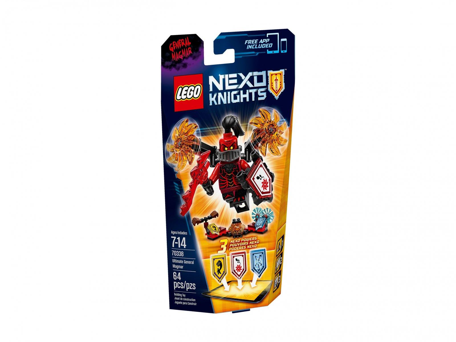 LEGO 70338 Nexo Knights™ Generał Magmar