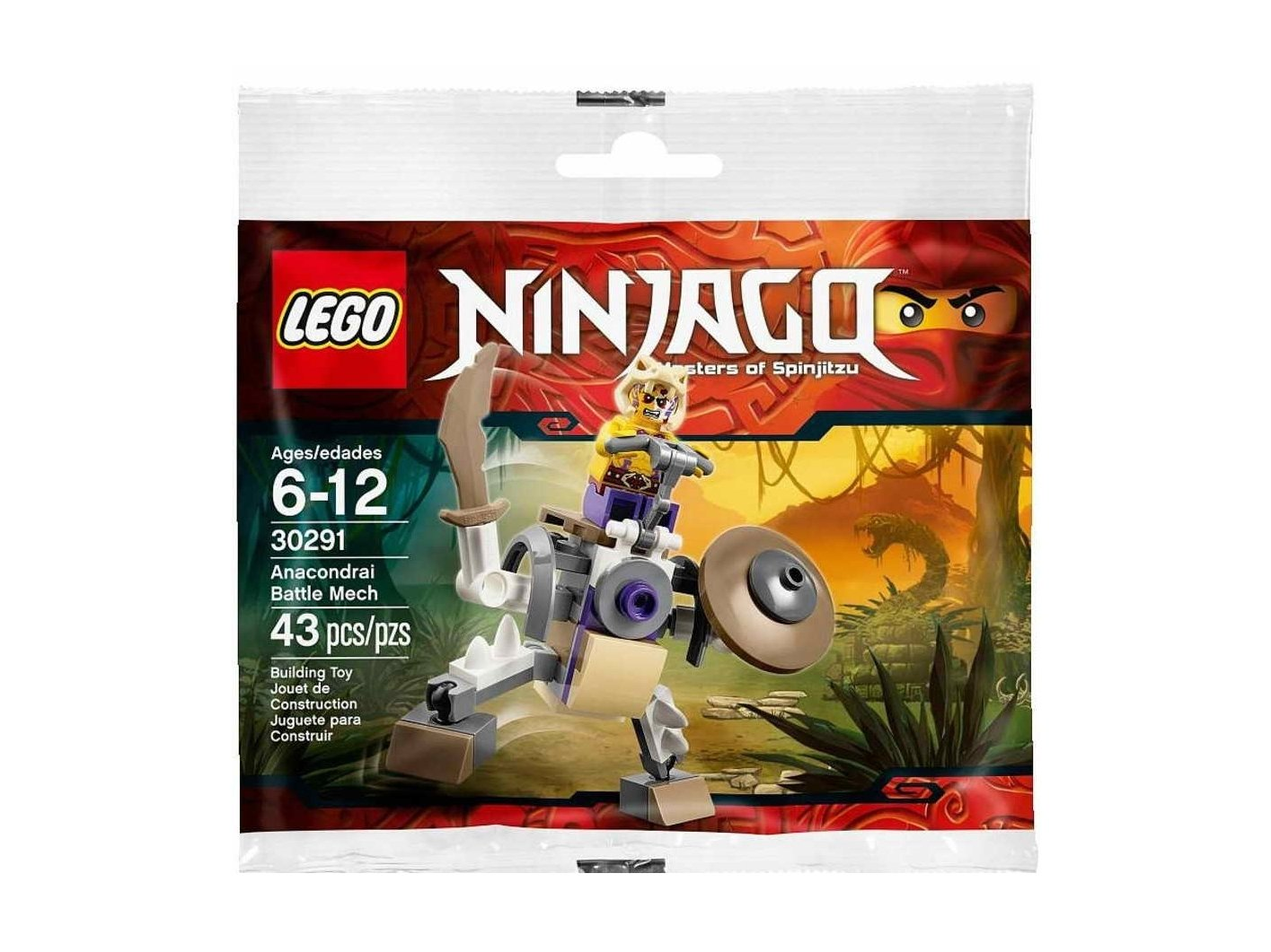 LEGO 30291 Ninjago® Anacondrai Battle Mech
