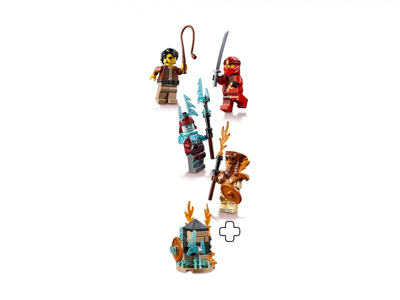 LEGO Ninjago® 40342 Zestaw minifigurek - NINJAGO® 2019