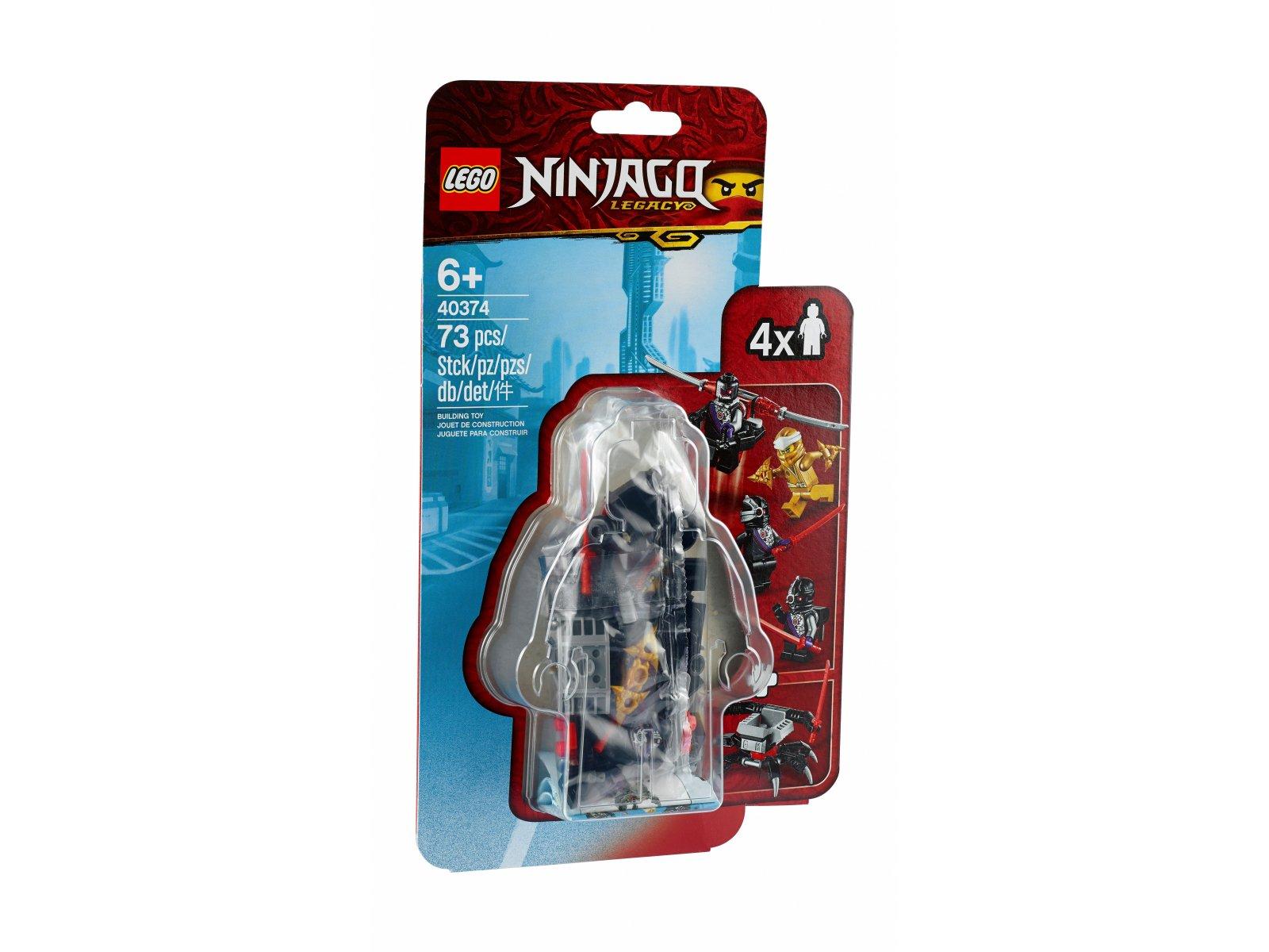 LEGO Ninjago® Zestaw akcesoriów i minifigurek ze złotym Zane'em 40374