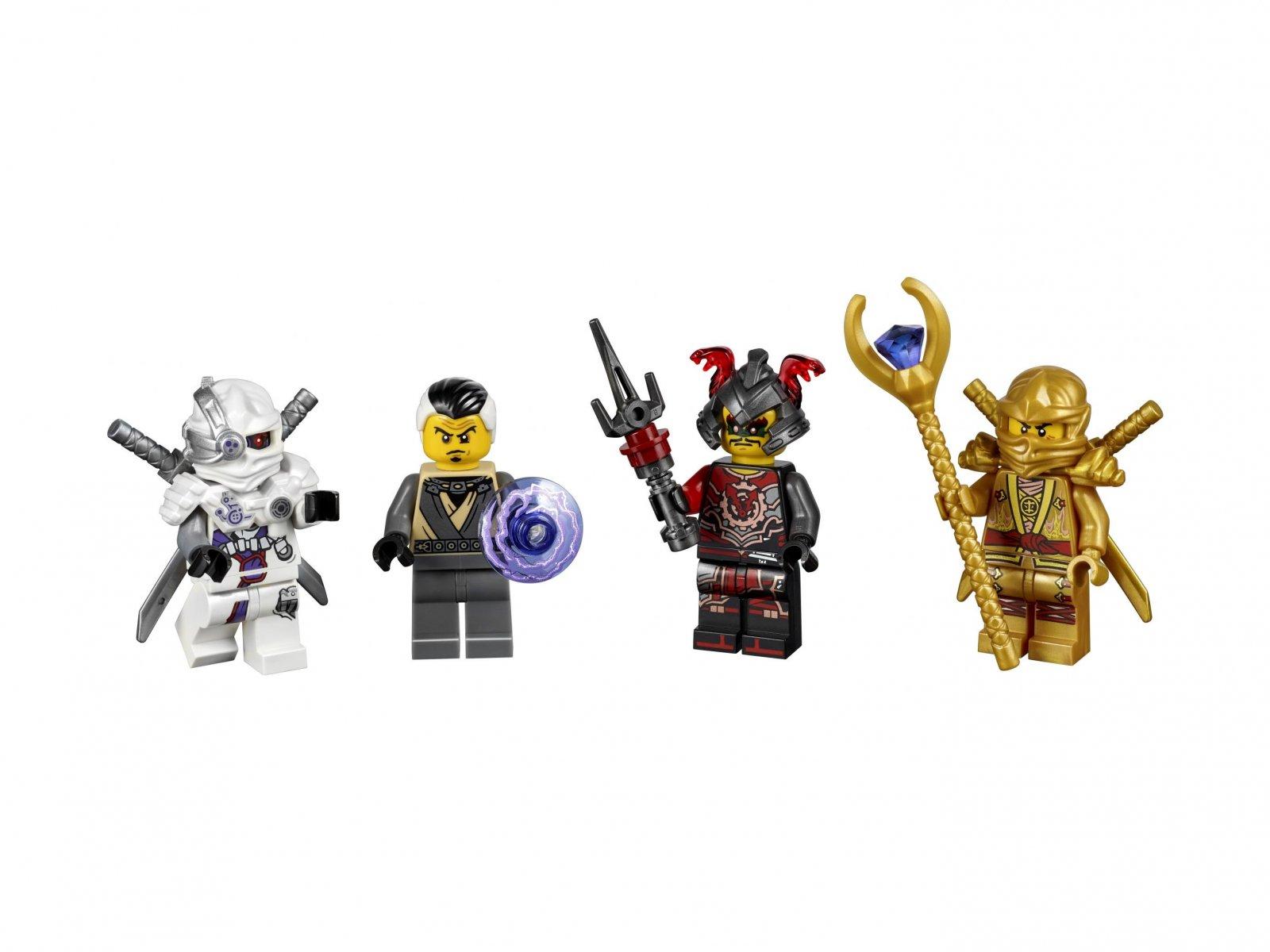 LEGO Ninjago® 5004938 Bricktober - zestaw minifigurek