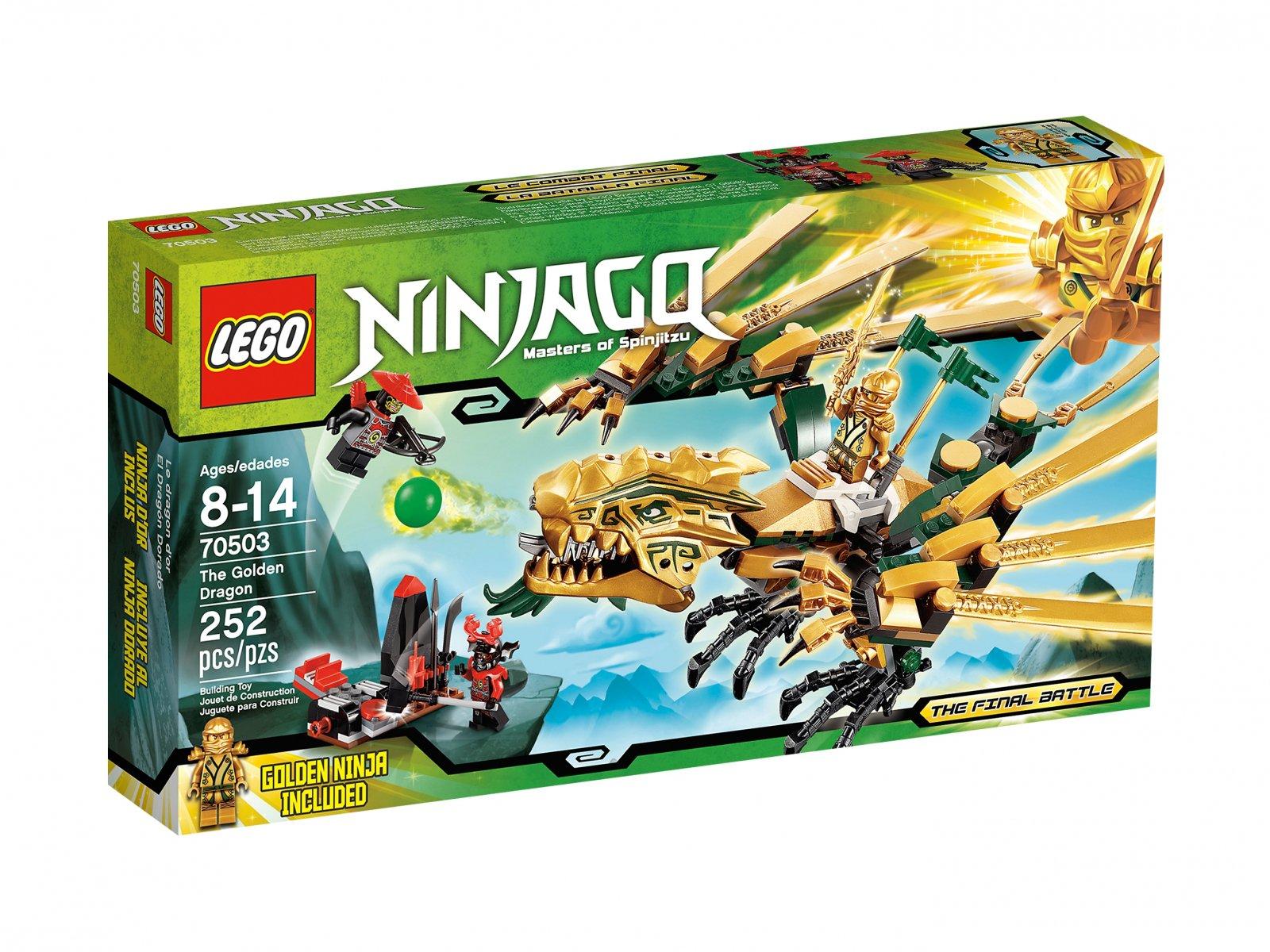 Lego 70503 Ninjago Złoty Smok Porównaj Ceny Zklockówpl