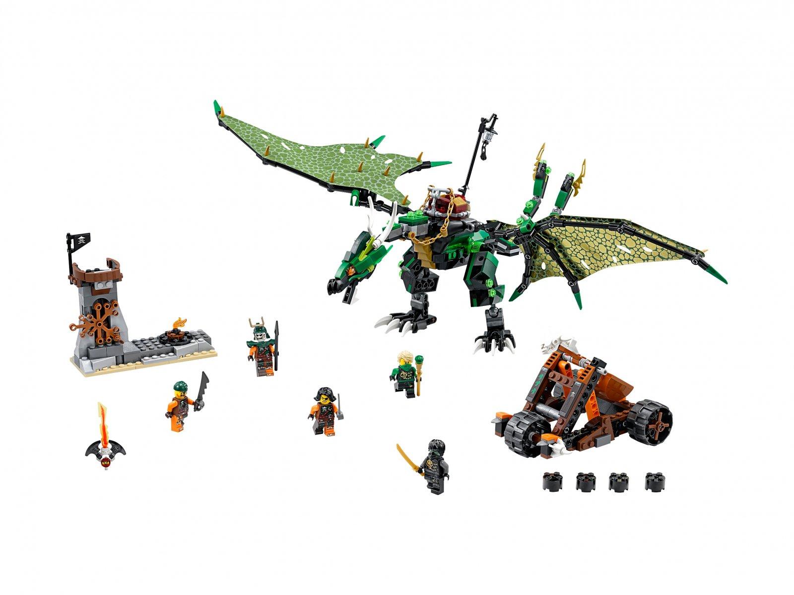 LEGO Ninjago® 70593 Zielony smok NRG