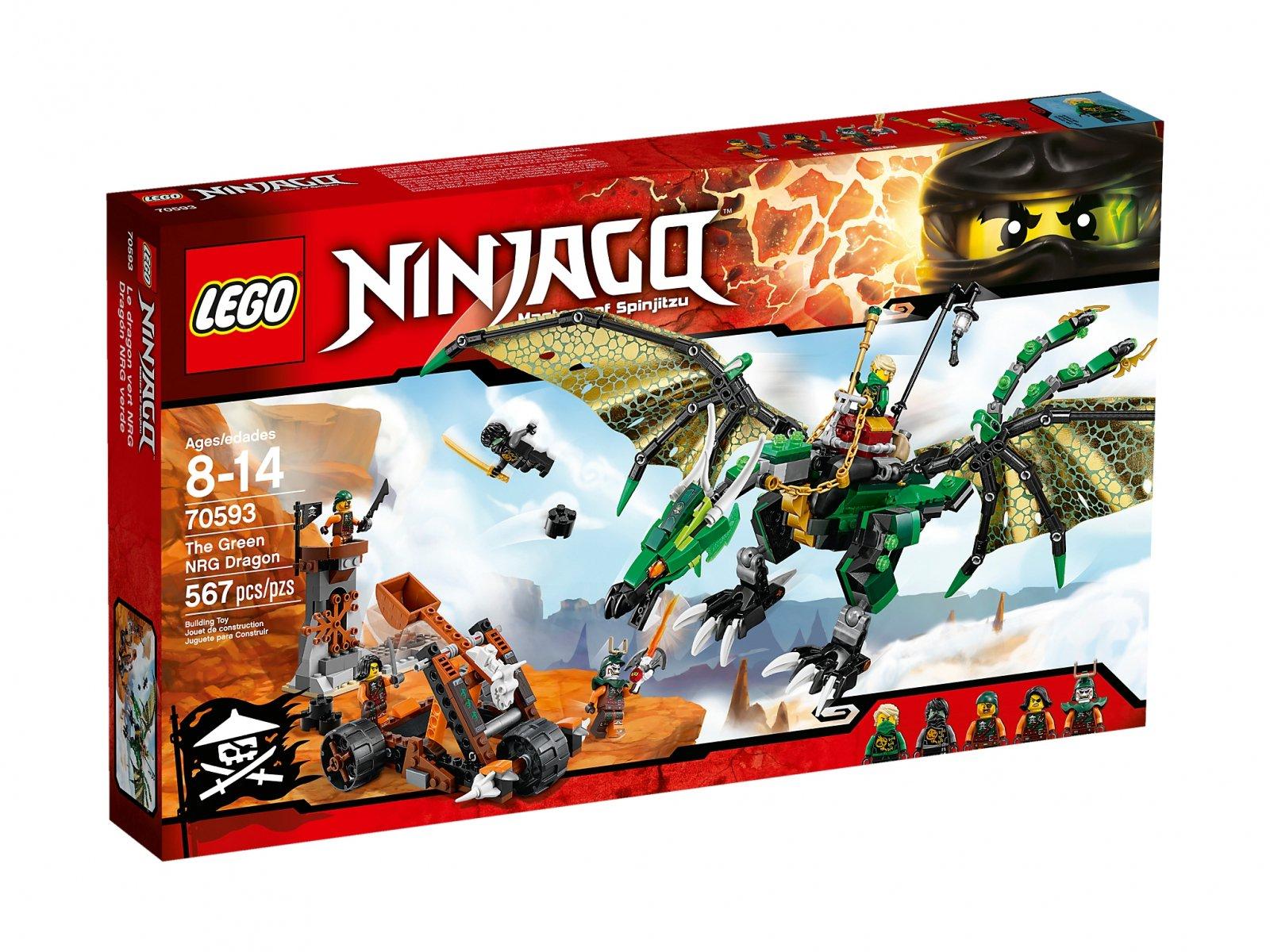 LEGO 70593 Ninjago® Zielony smok NRG