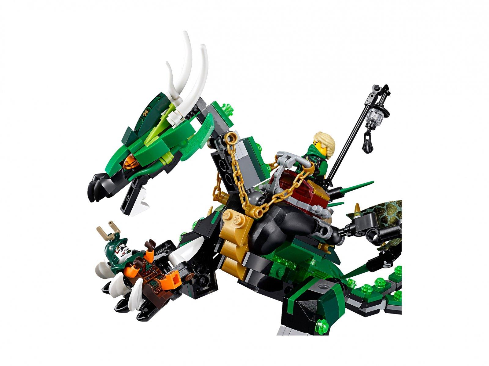 LEGO Ninjago® Zielony smok NRG 70593