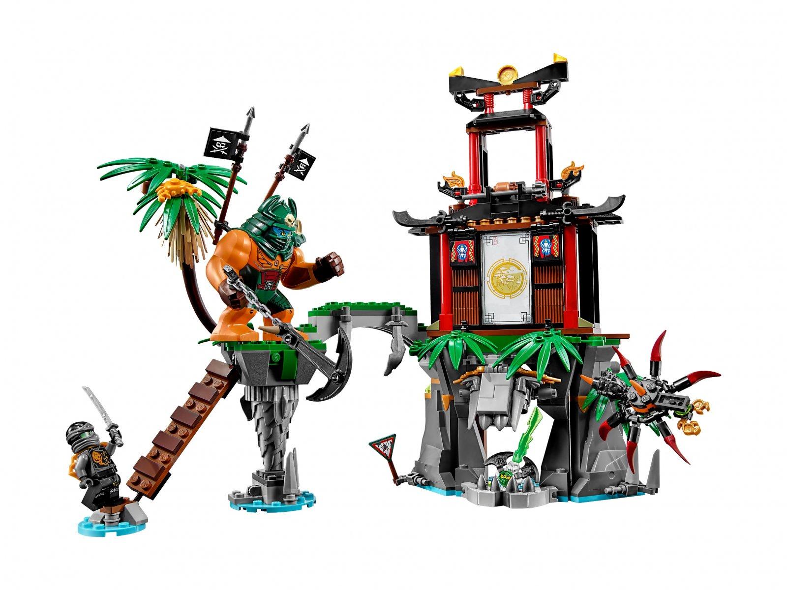 LEGO Ninjago® Wyspa Tygrysiej Wdowy