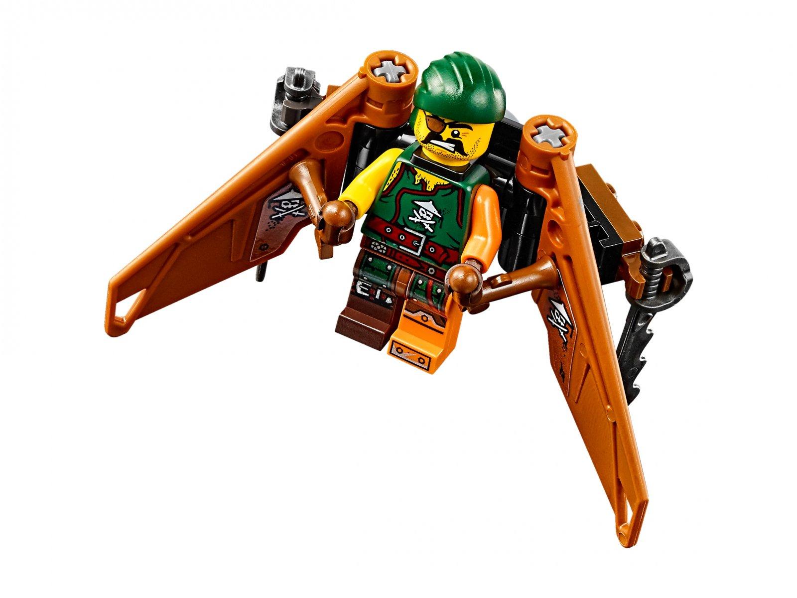 LEGO 70604 Ninjago® Wyspa Tygrysiej Wdowy