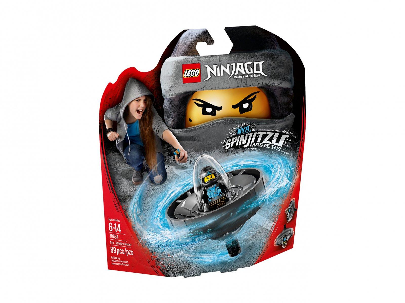 LEGO Ninjago® Nya - mistrzyni Spinjitzu