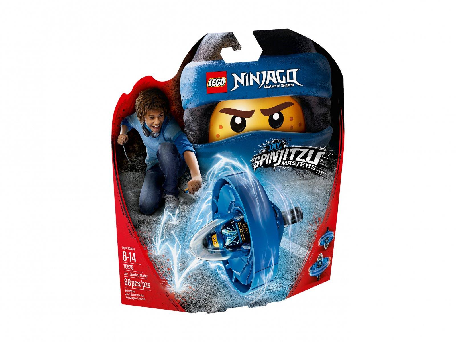 LEGO Ninjago® Jay - mistrz Spinjitzu 70635