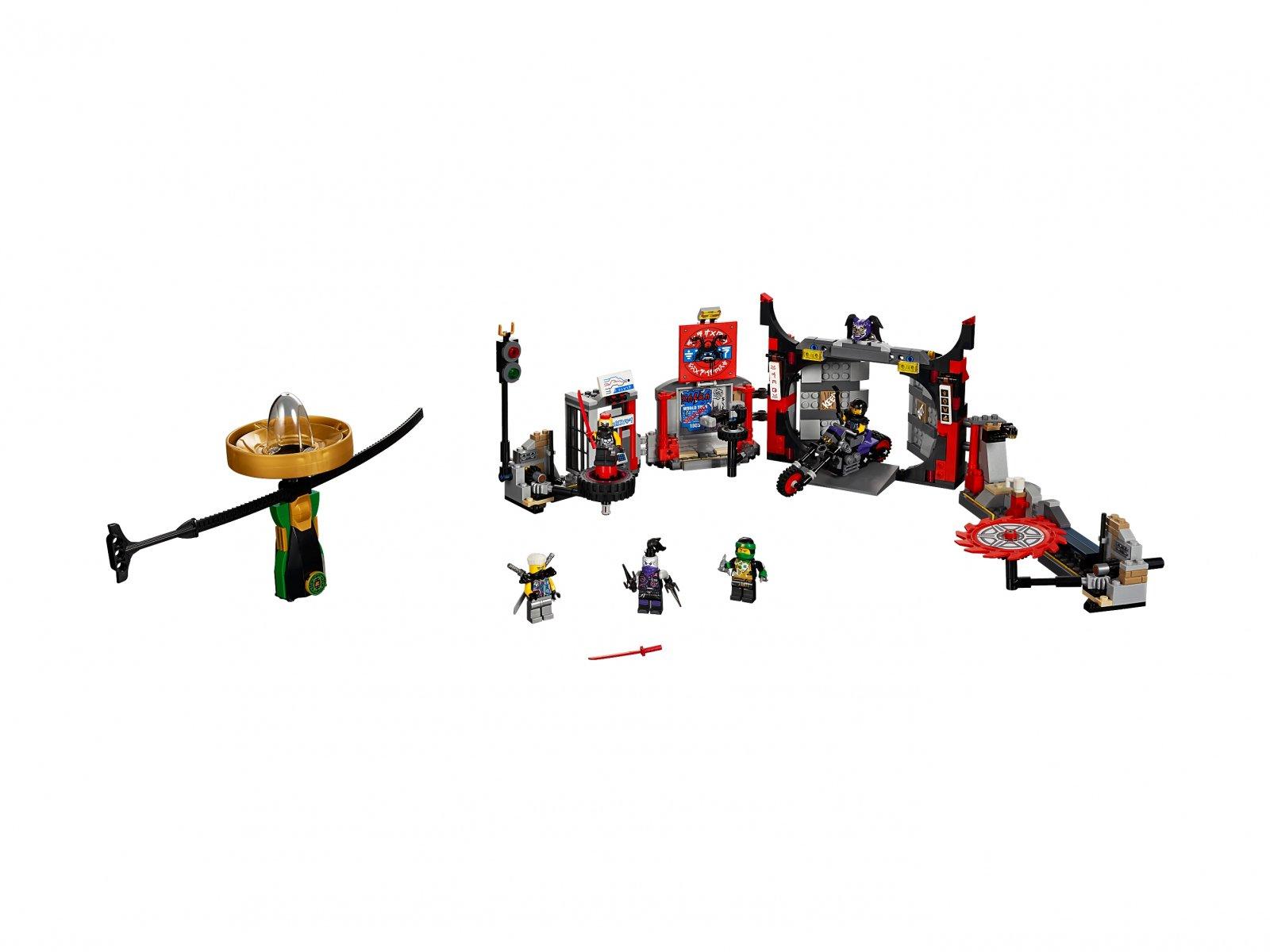 LEGO 70640 Ninjago® Kwatera główna S.O.G.