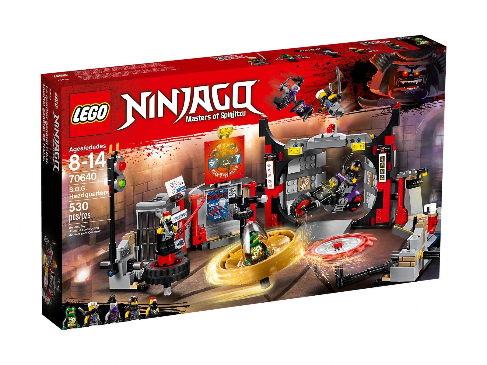 LEGO Ninjago® Kwatera główna S.O.G. 70640