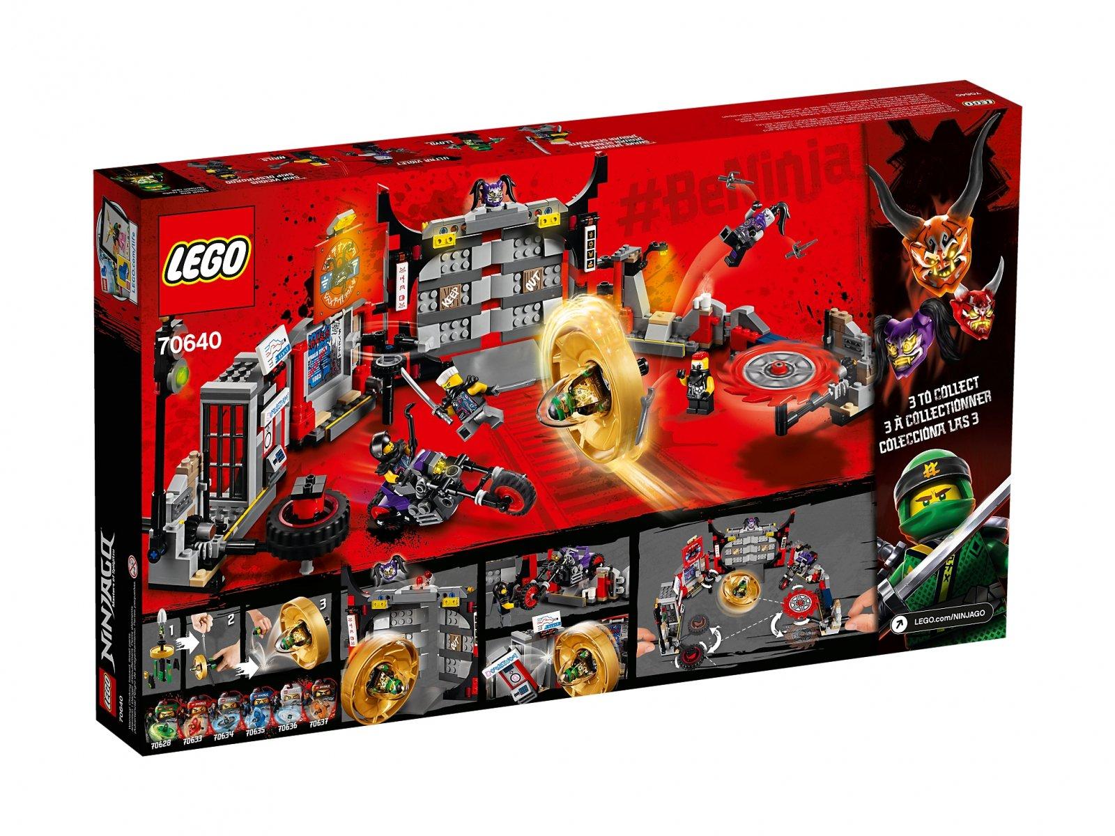 LEGO Ninjago® 70640 Kwatera główna S.O.G.
