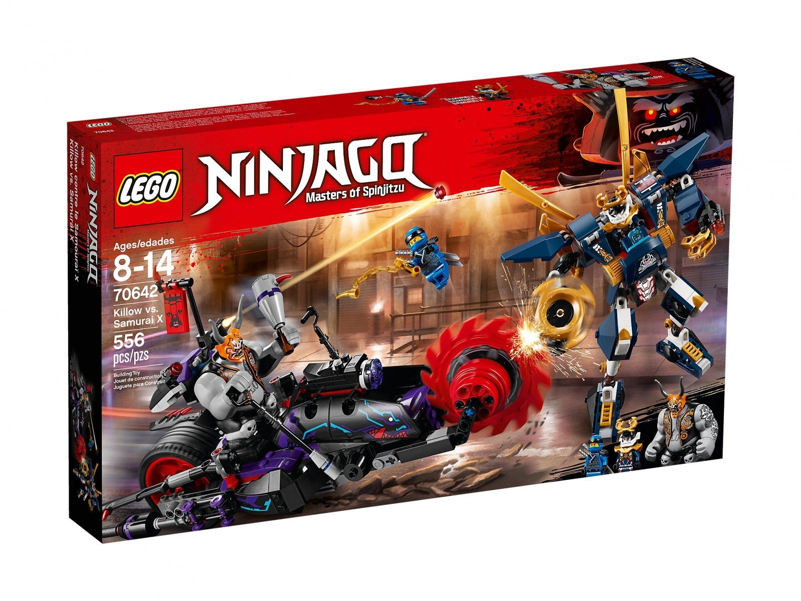 LEGO Ninjago® Killow kontra Samuraj X