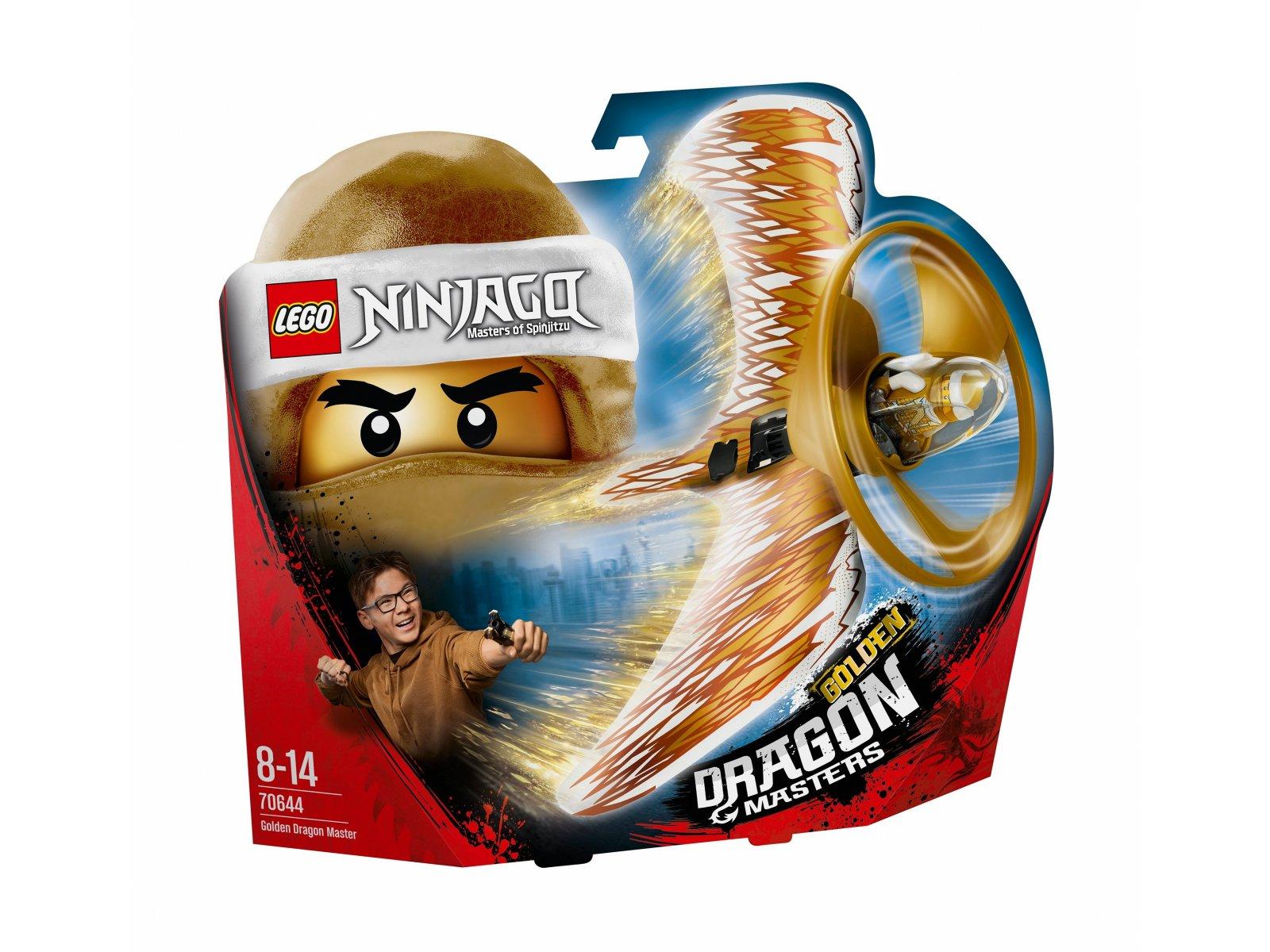 LEGO 70644 Ninjago® Złoty smoczy mistrz