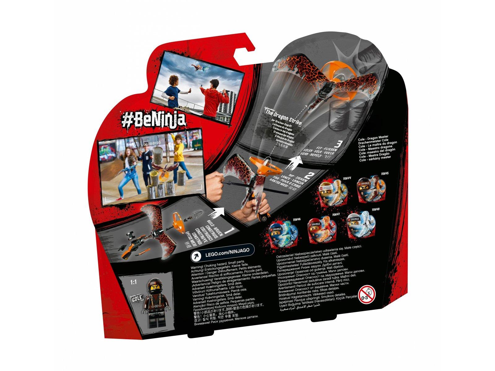 LEGO Ninjago® Cole - smoczy mistrz