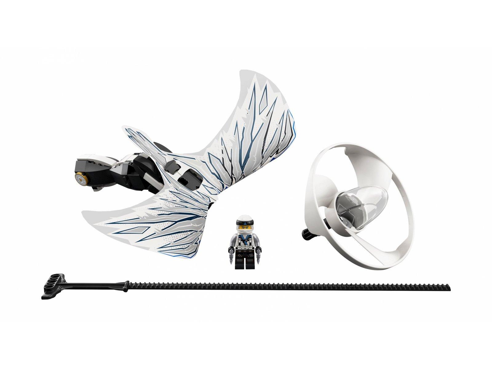 LEGO Ninjago® Zane - smoczy mistrz 70648