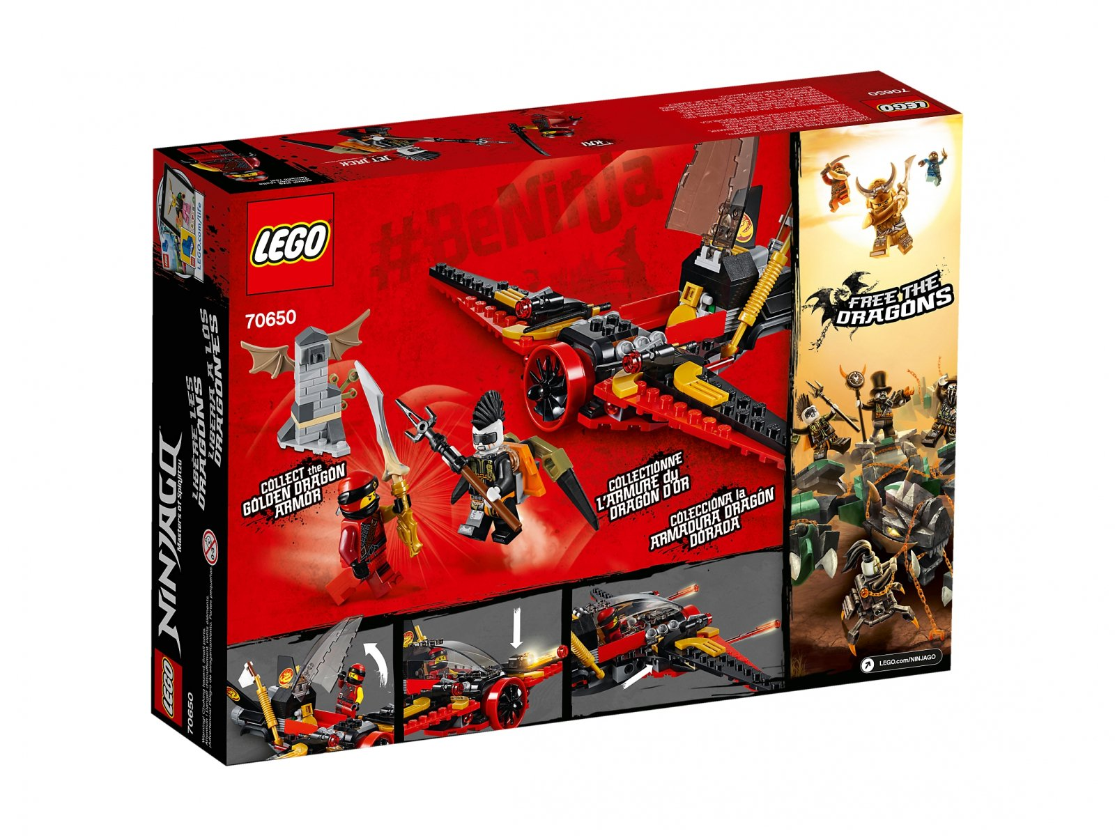 LEGO Ninjago® Skrzydło przeznaczenia 70650