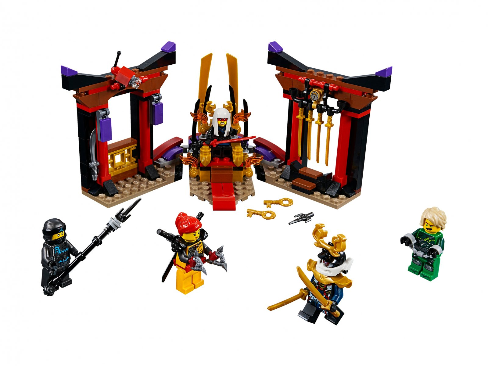 Lego 70651 Ninjago® Starcie w sali tronowej