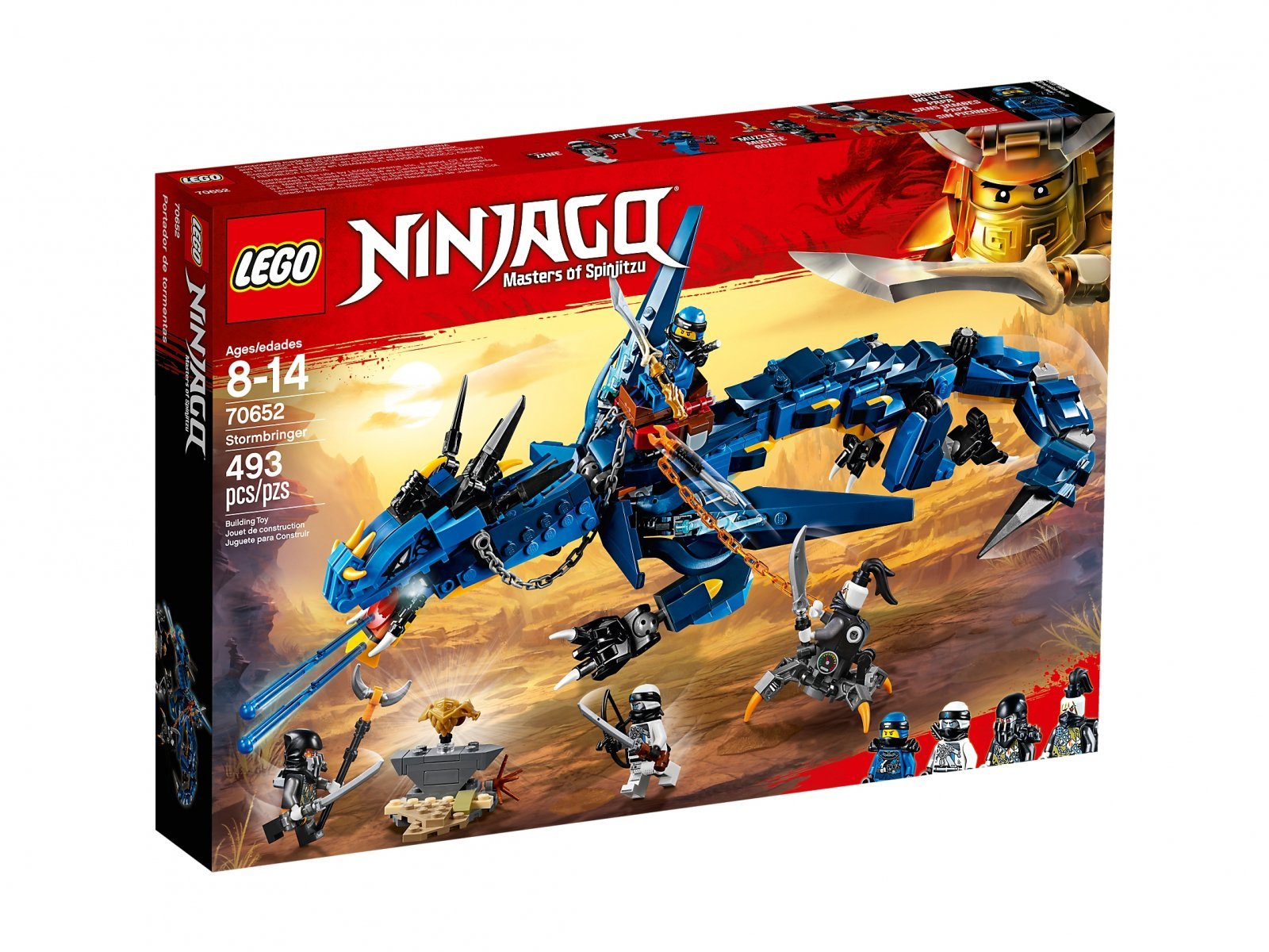 LEGO Ninjago® 70652 Zwiastun burzy