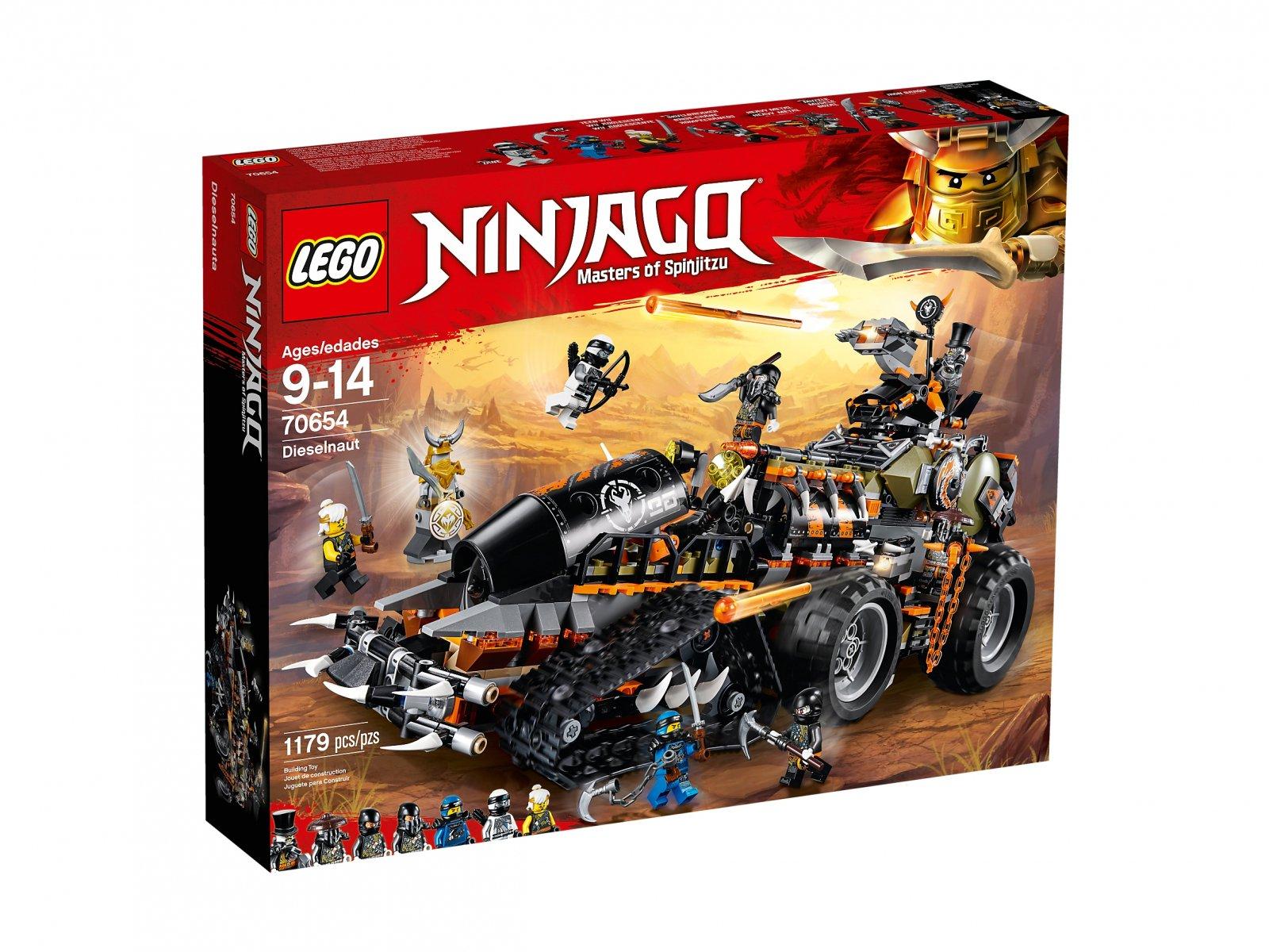 LEGO 70654 Dieselnauta