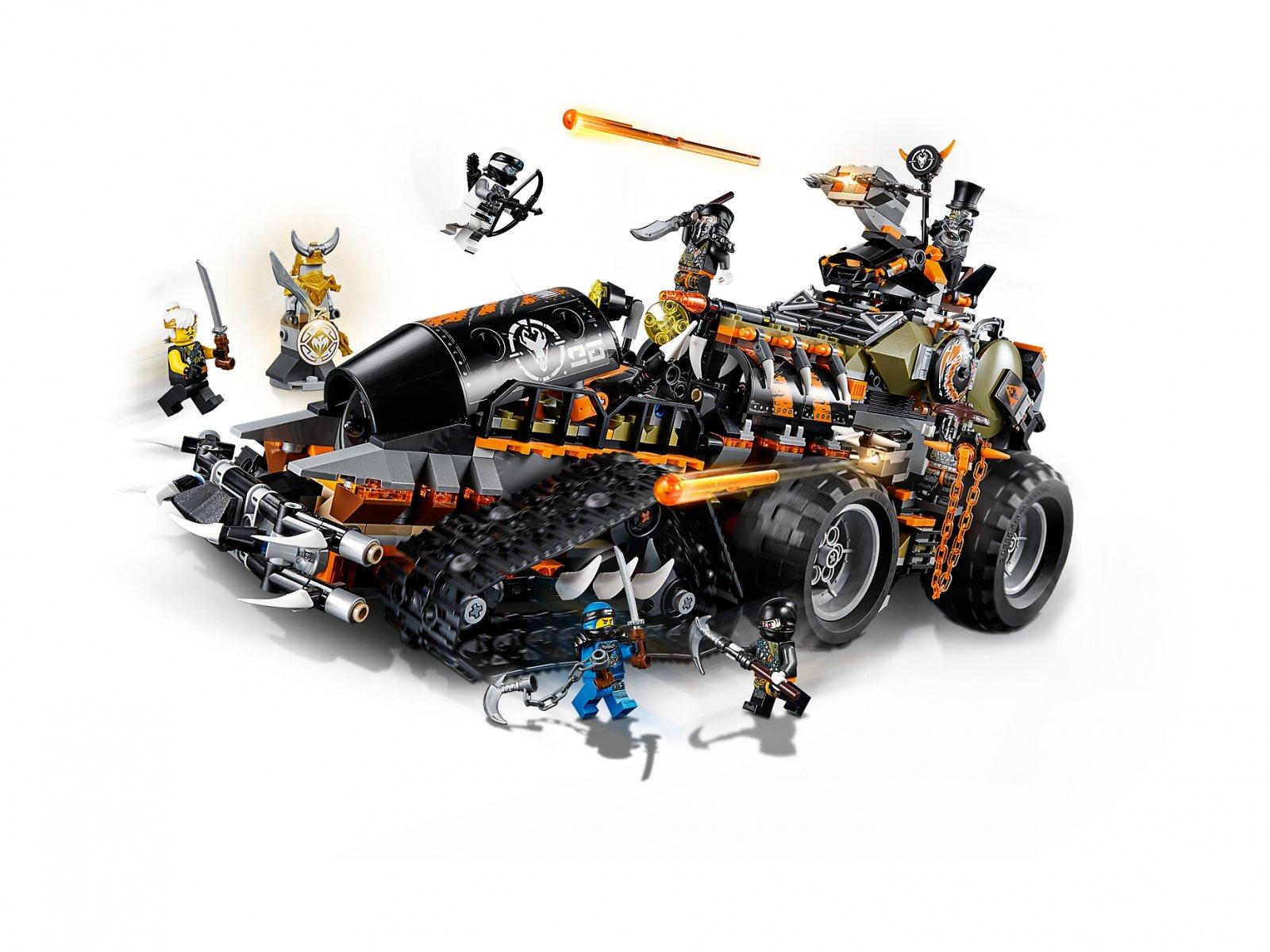 LEGO Ninjago® Dieselnauta 70654