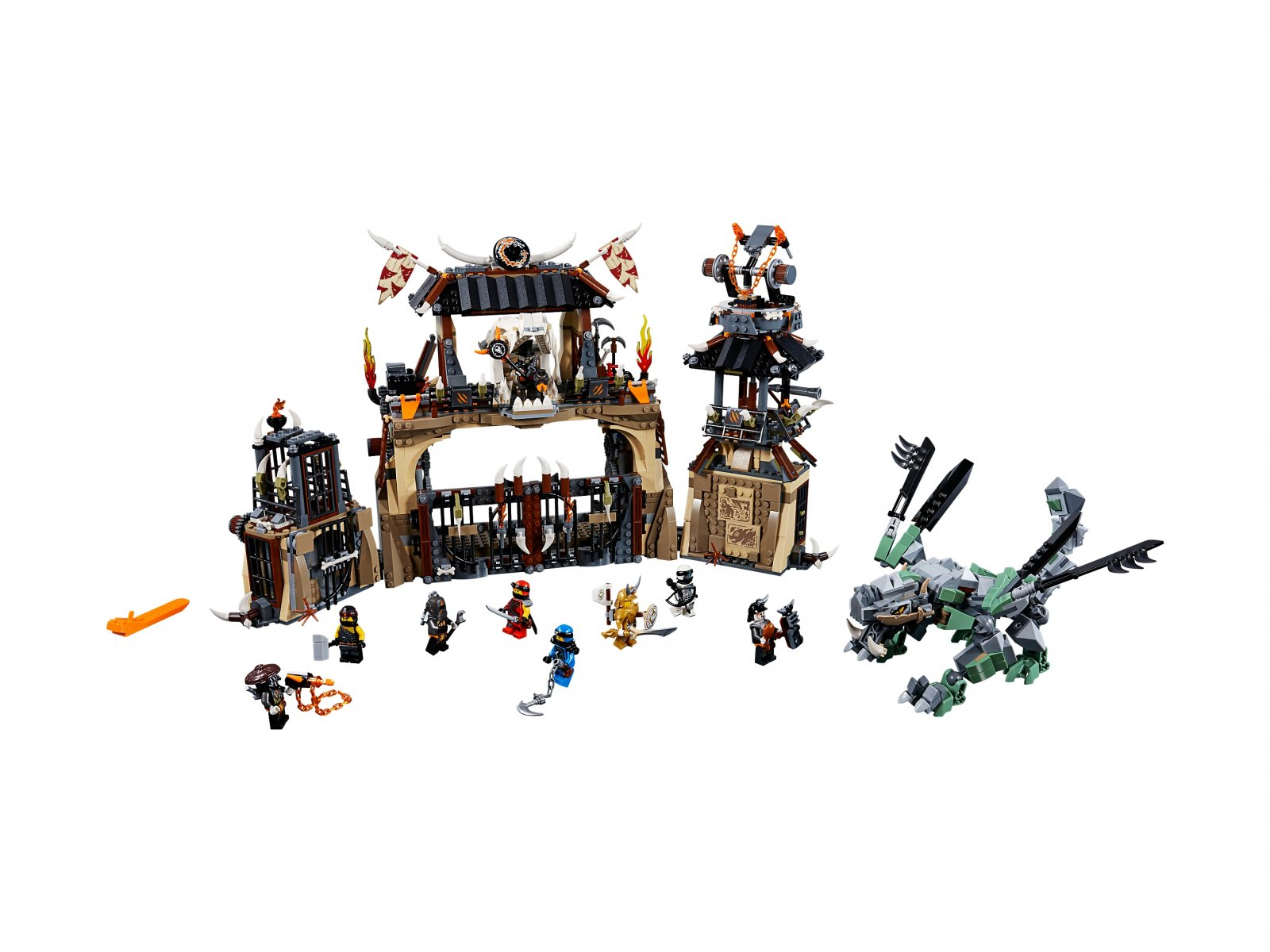 LEGO Ninjago® 70655 Smocza jama