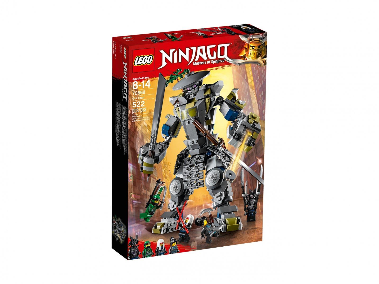 LEGO Ninjago® 70658 Tytan Oni