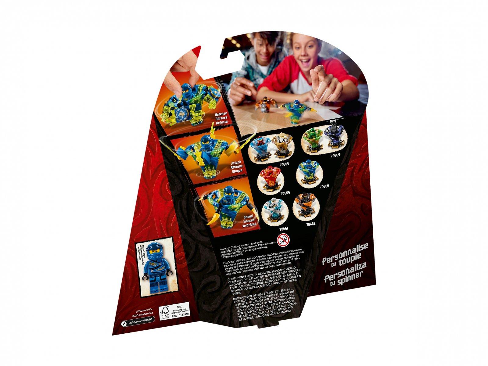 LEGO Ninjago® Spinjitzu Jay 70660