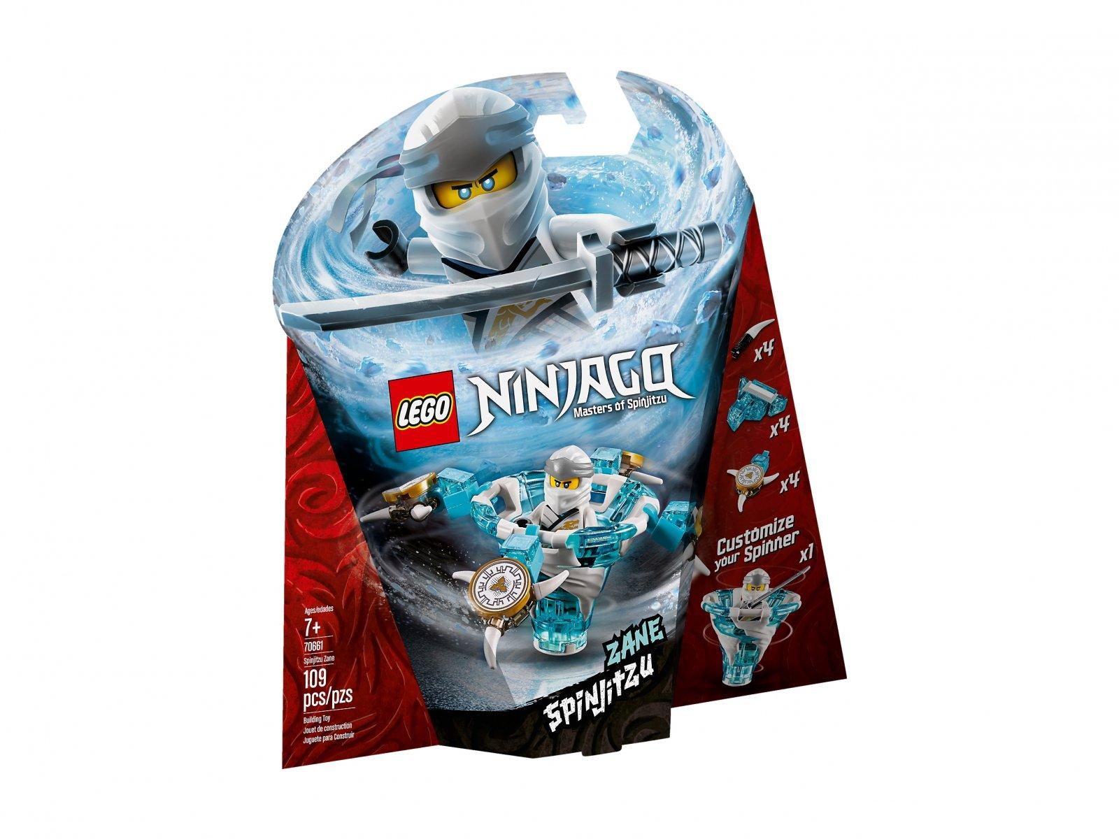 LEGO Ninjago® Spinjitzu Zane 70661