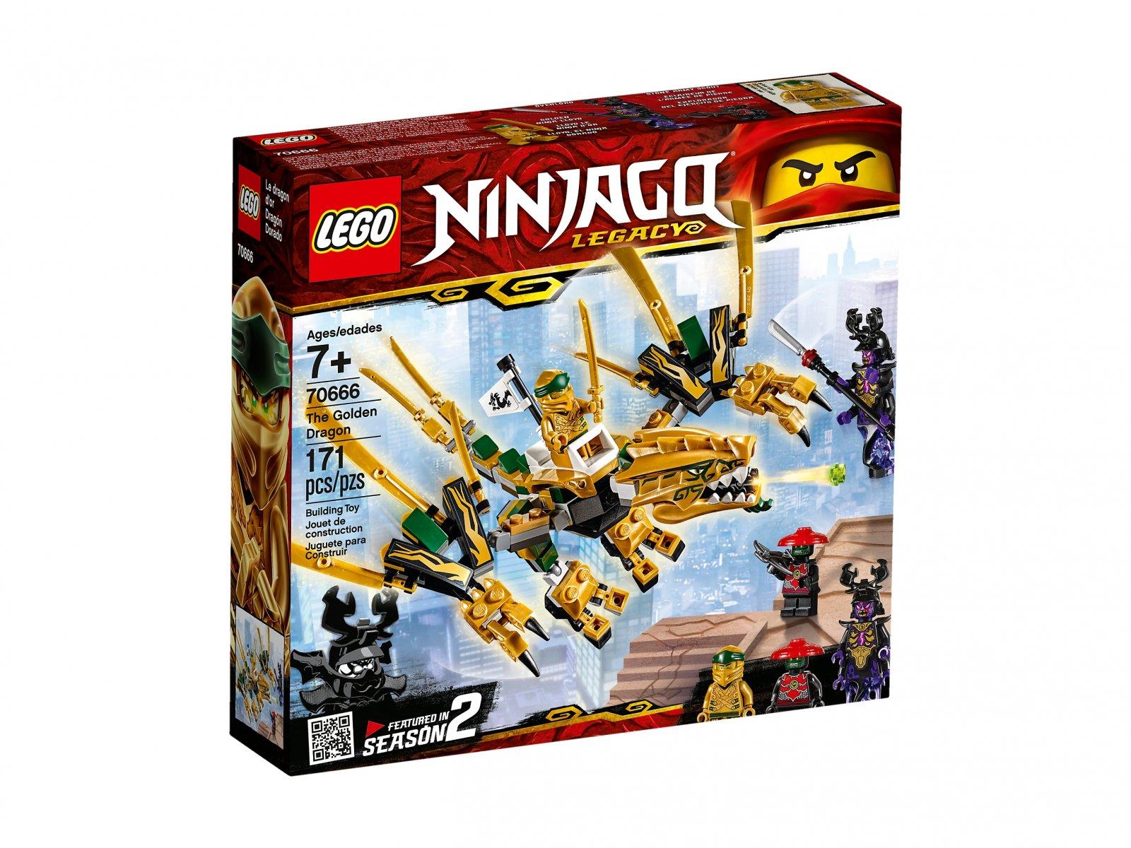 LEGO Ninjago® Złoty Smok 70666