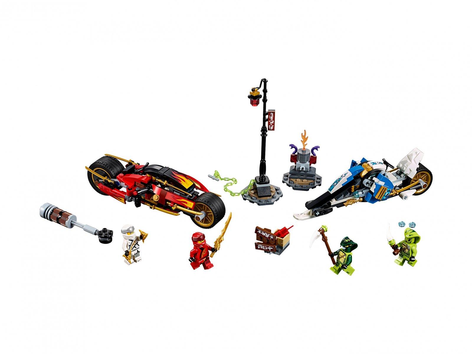 LEGO 70667 Ninjago® Motocykl Kaia i skuter Zane'a