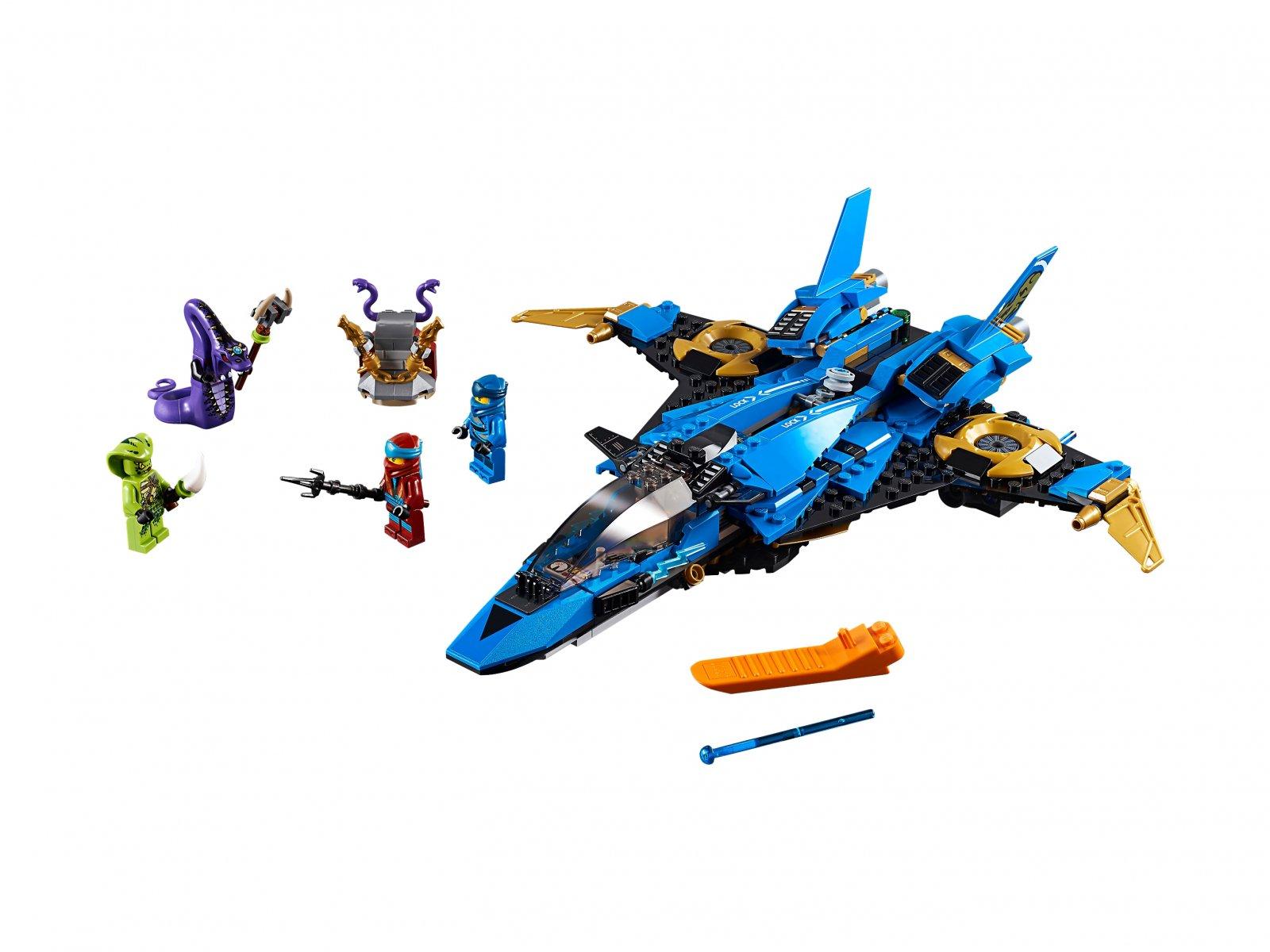 LEGO 70668 Ninjago® Burzowy myśliwiec Jaya