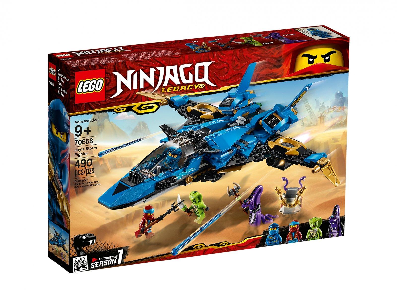 Lego 70668 Ninjago Burzowy Myśliwiec Jaya Zklockówpl