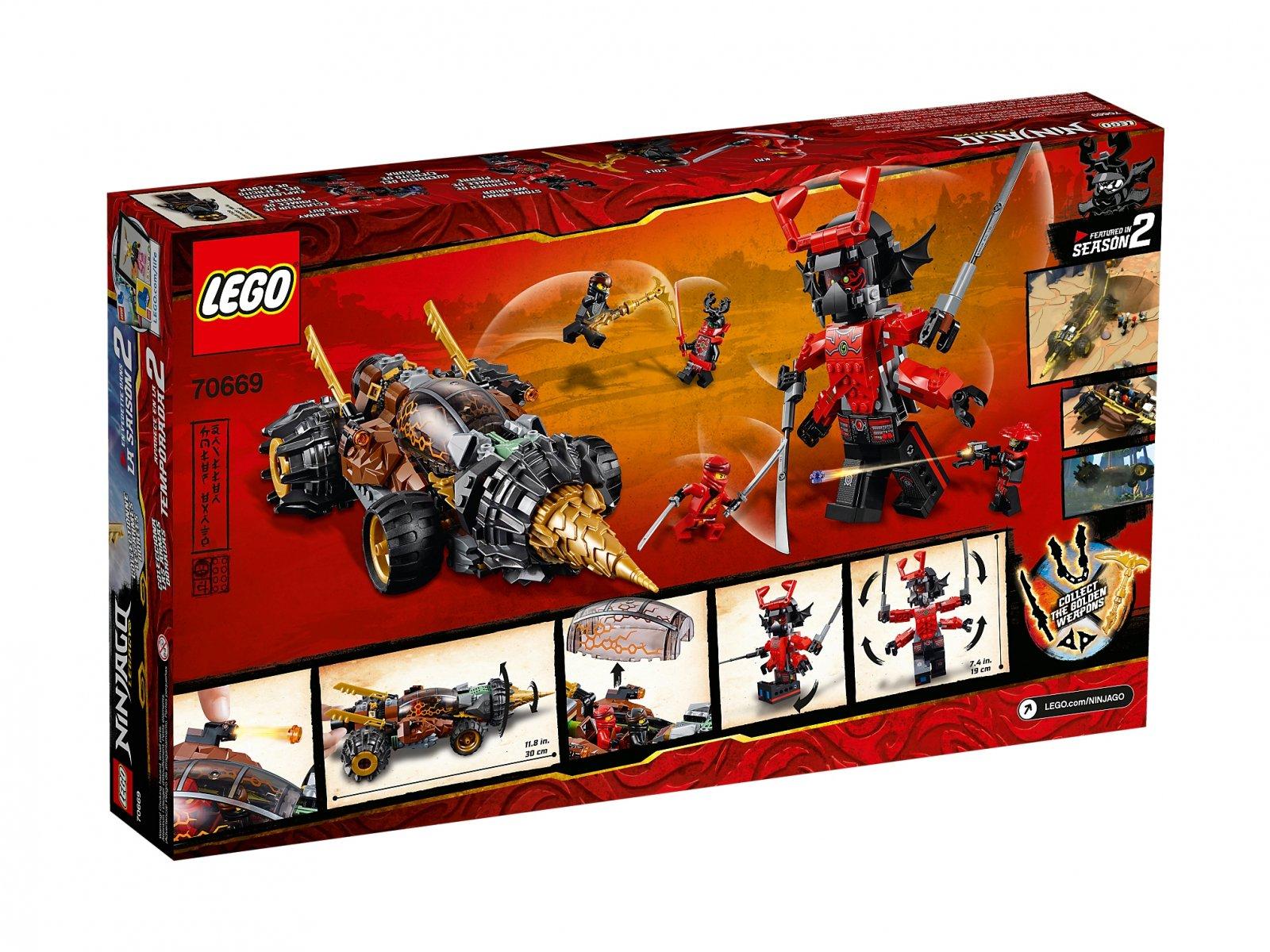 LEGO Ninjago® Wiertło Cole'a