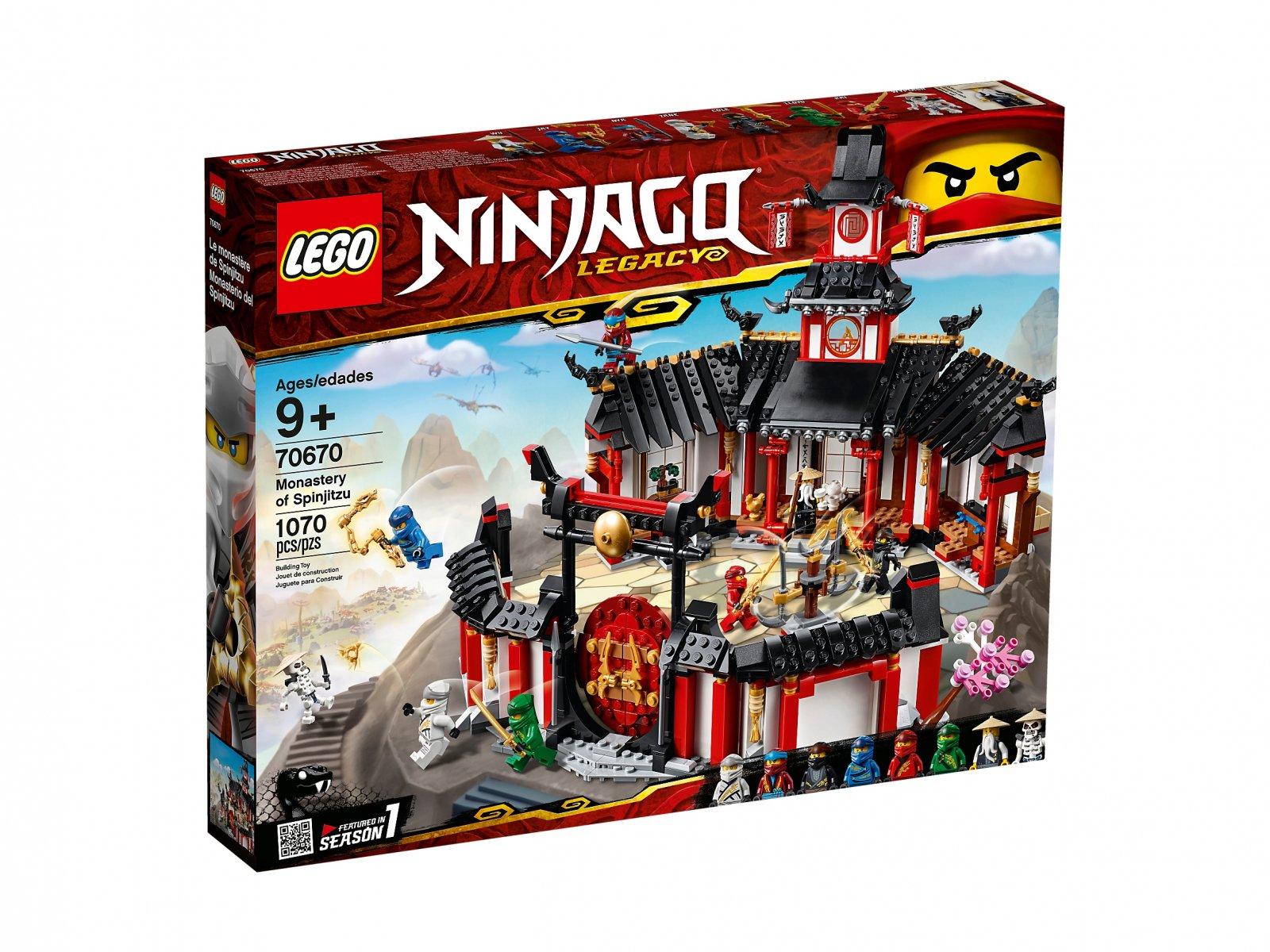 LEGO 70670 Ninjago® Klasztor Spinjitzu
