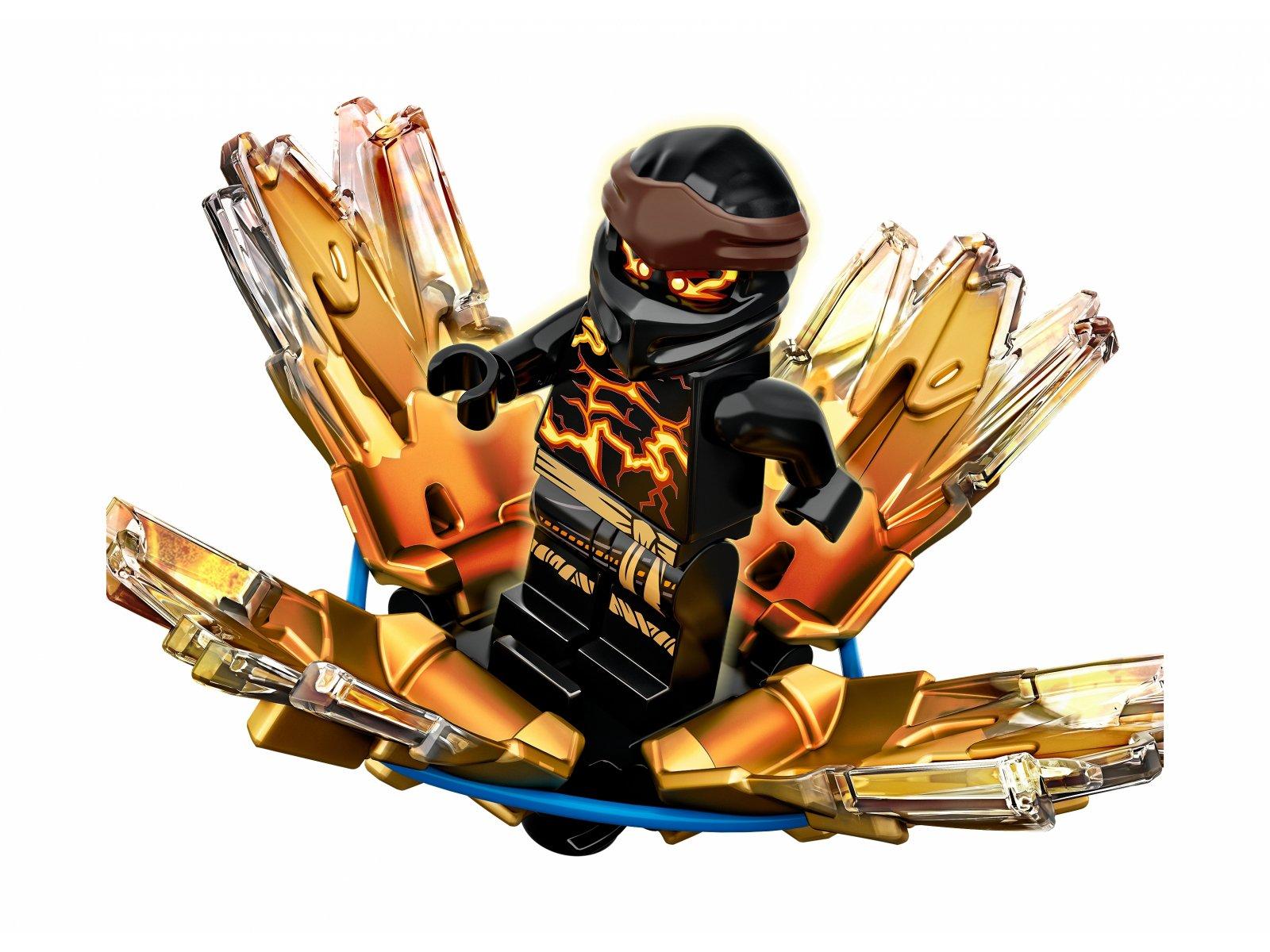 LEGO Ninjago® Wybuch Spinjitzu - Cole 70685