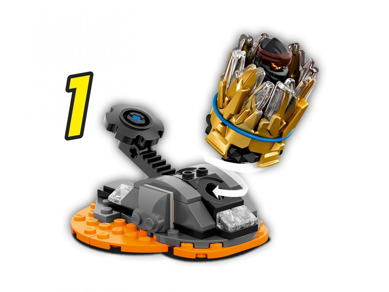 LEGO 70685 Ninjago® Wybuch Spinjitzu - Cole