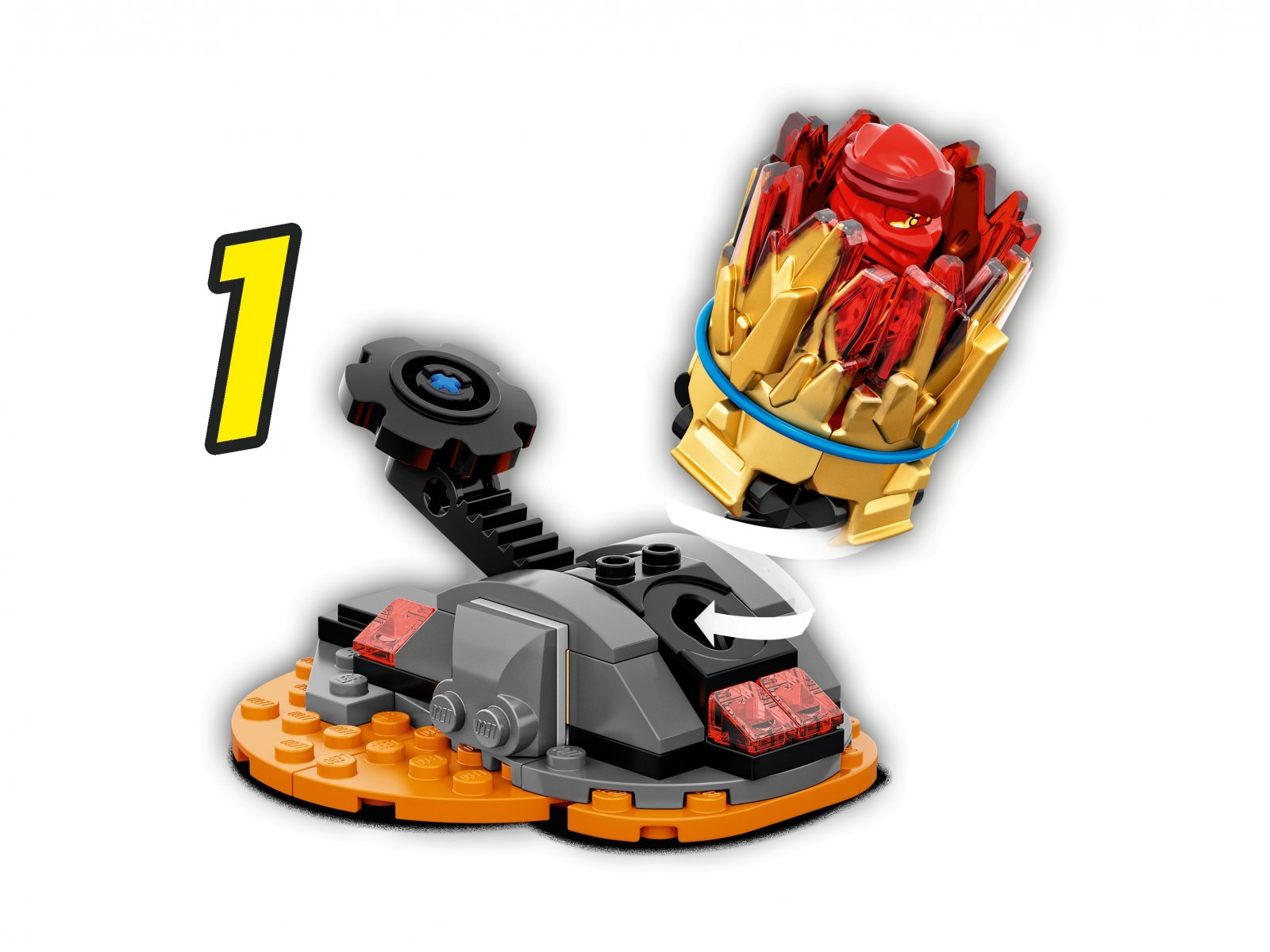 LEGO Ninjago Wybuch Spinjitzu - Kai 70686