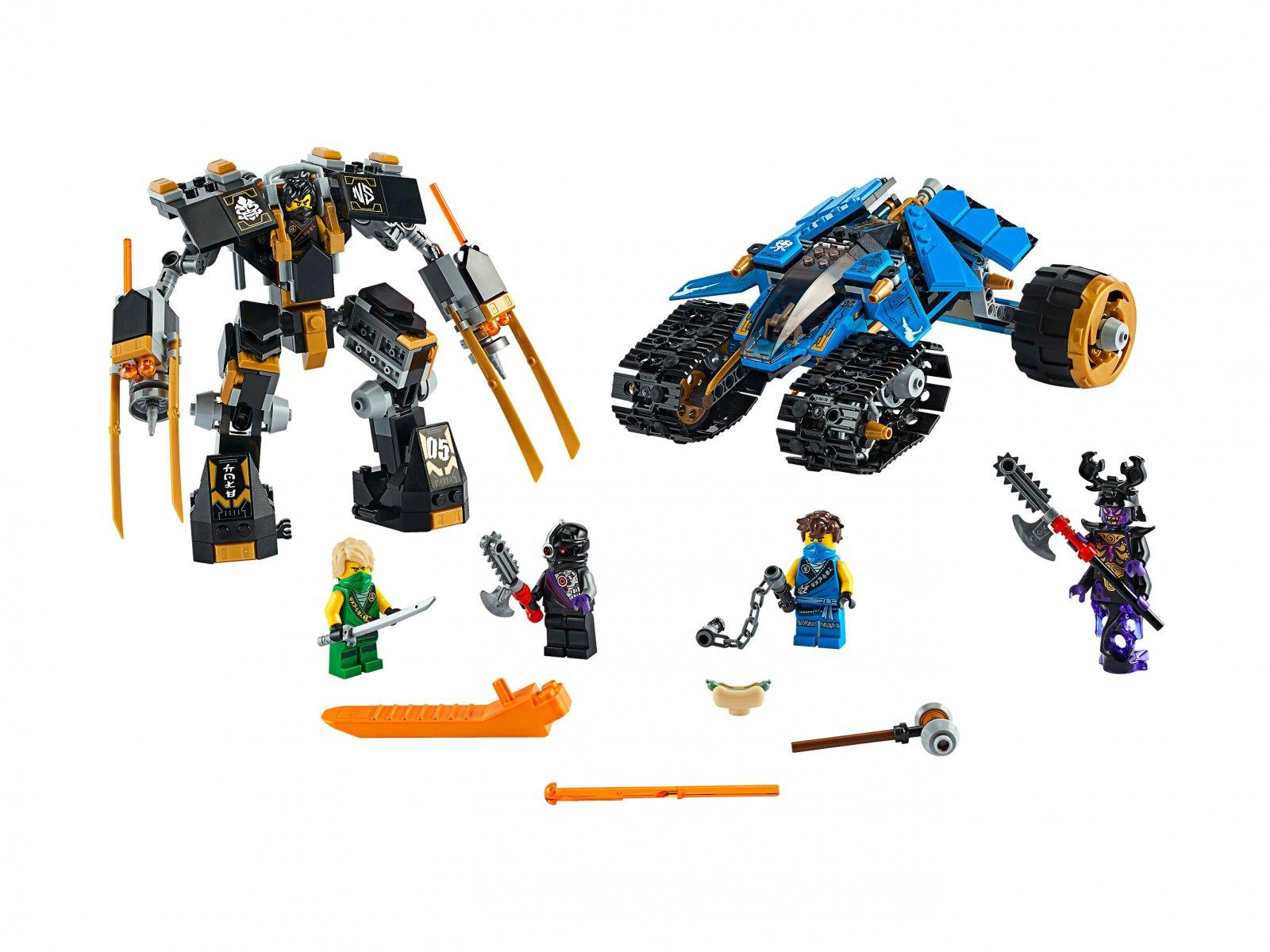LEGO 71699 Piorunowy pojazd