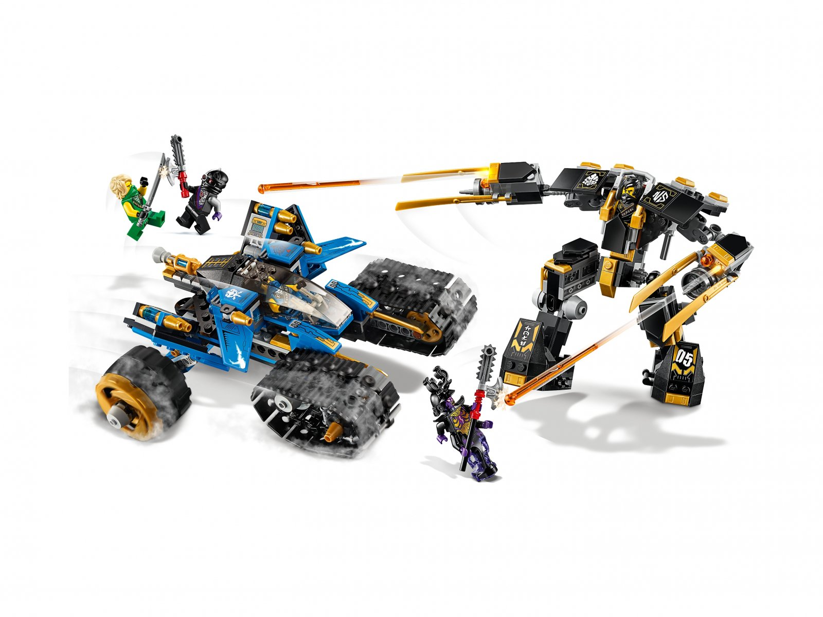 LEGO Ninjago® Piorunowy pojazd 71699