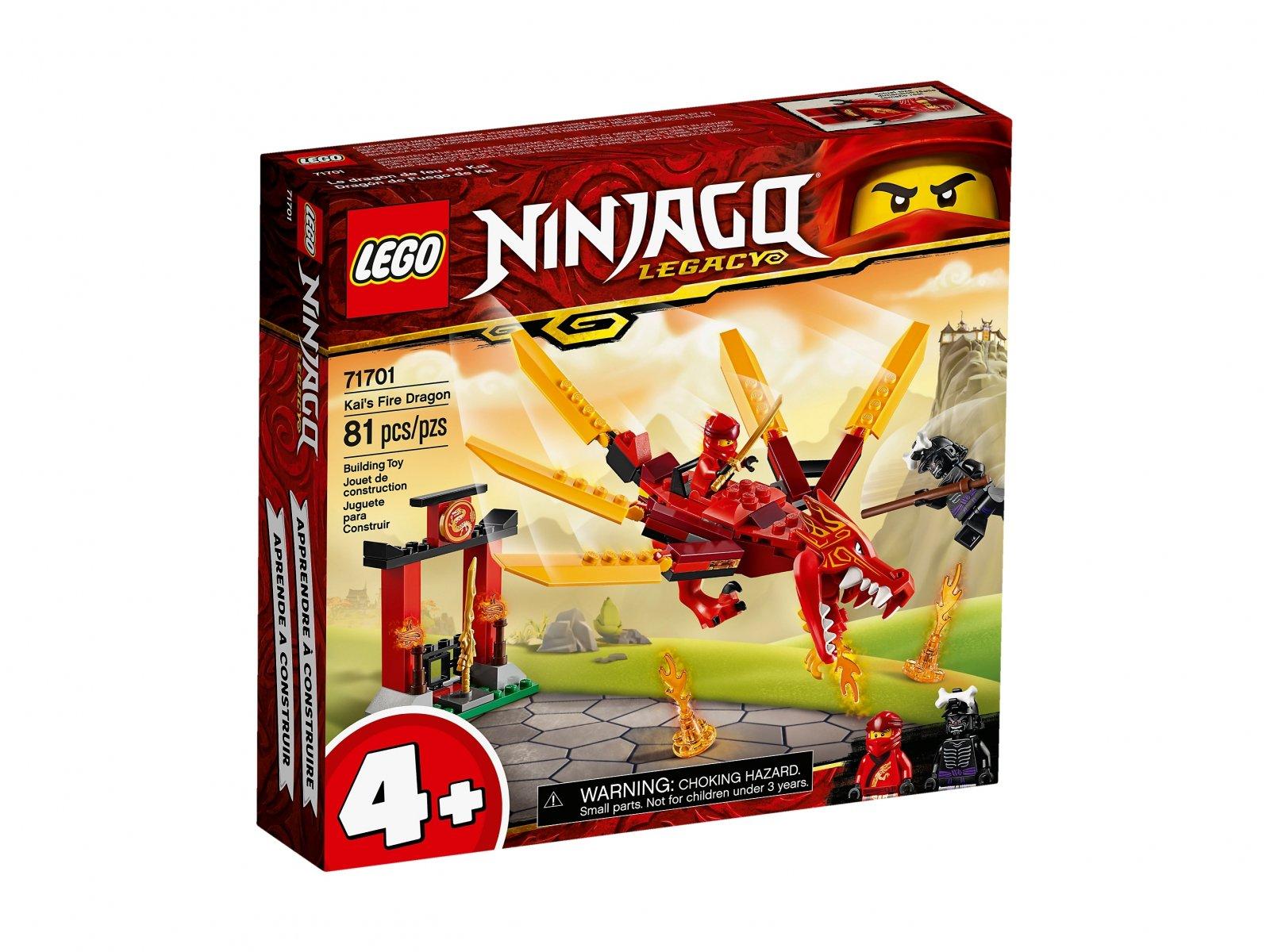 LEGO Ninjago® 71701 Smok ognia Kaia
