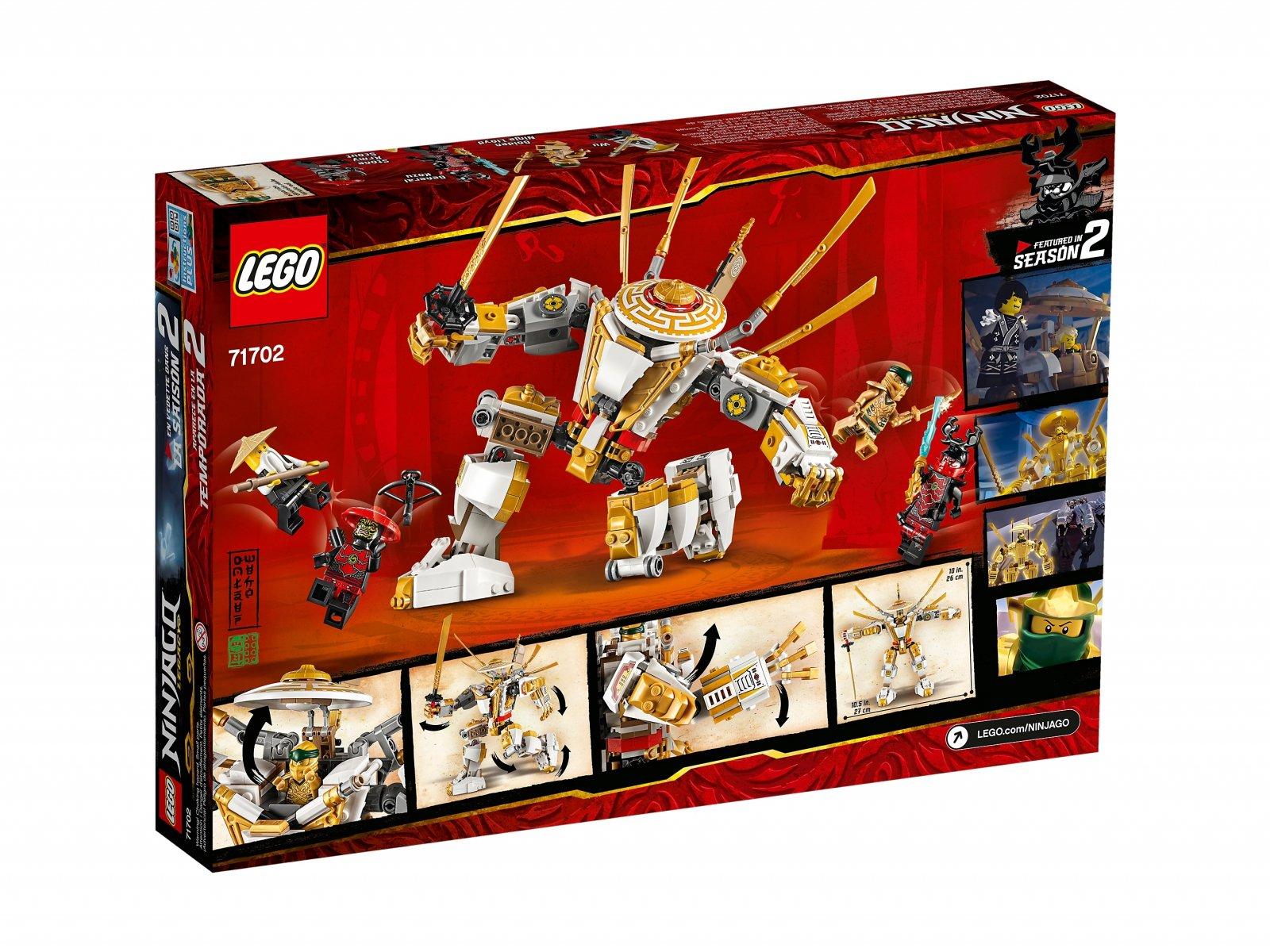 LEGO 71702 Złota zbroja