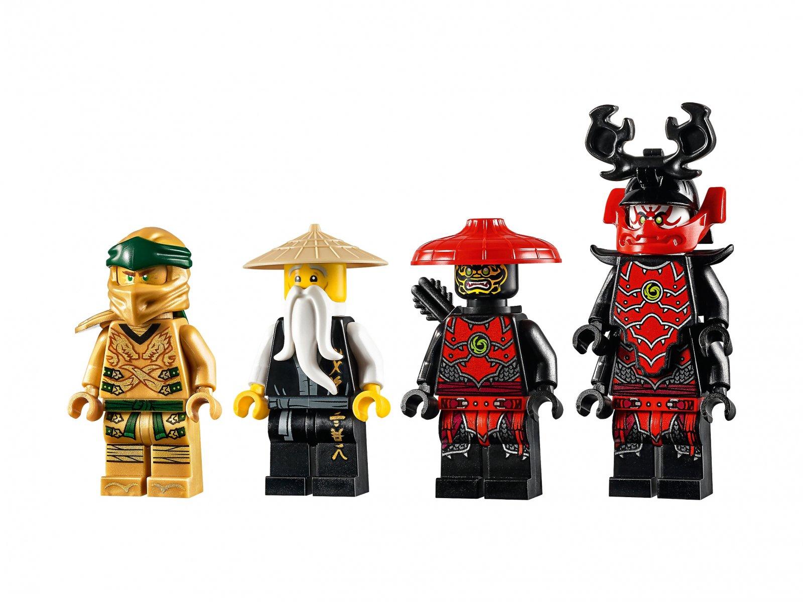 LEGO Ninjago® 71702 Złota zbroja