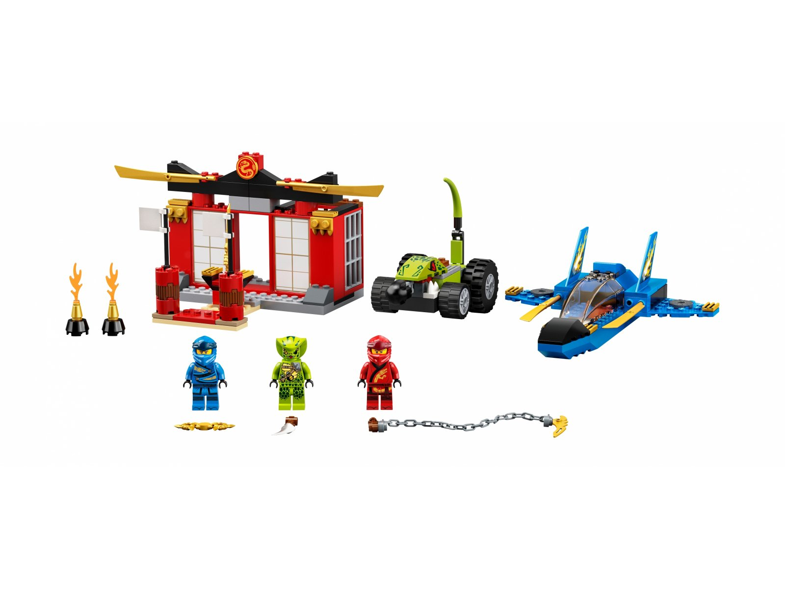 LEGO Ninjago® 71703 Bitwa burzowego myśliwca
