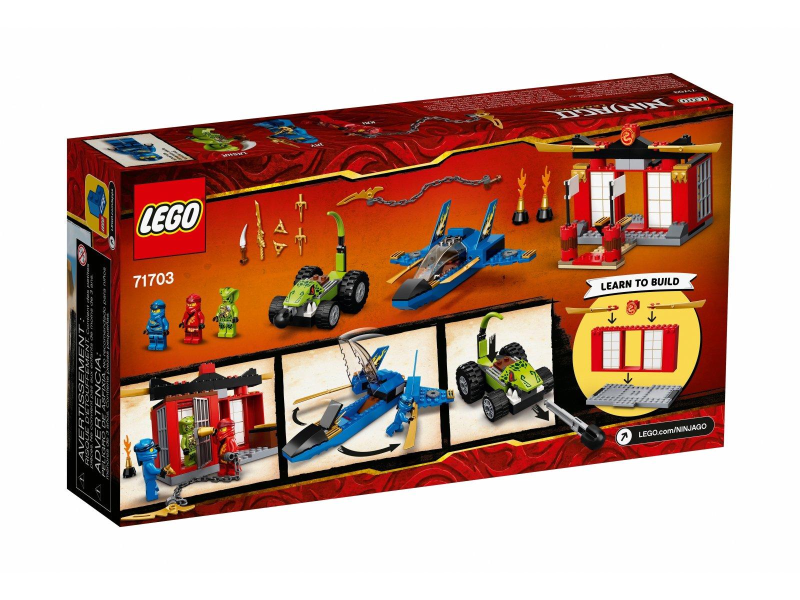LEGO 71703 Ninjago Bitwa burzowego myśliwca