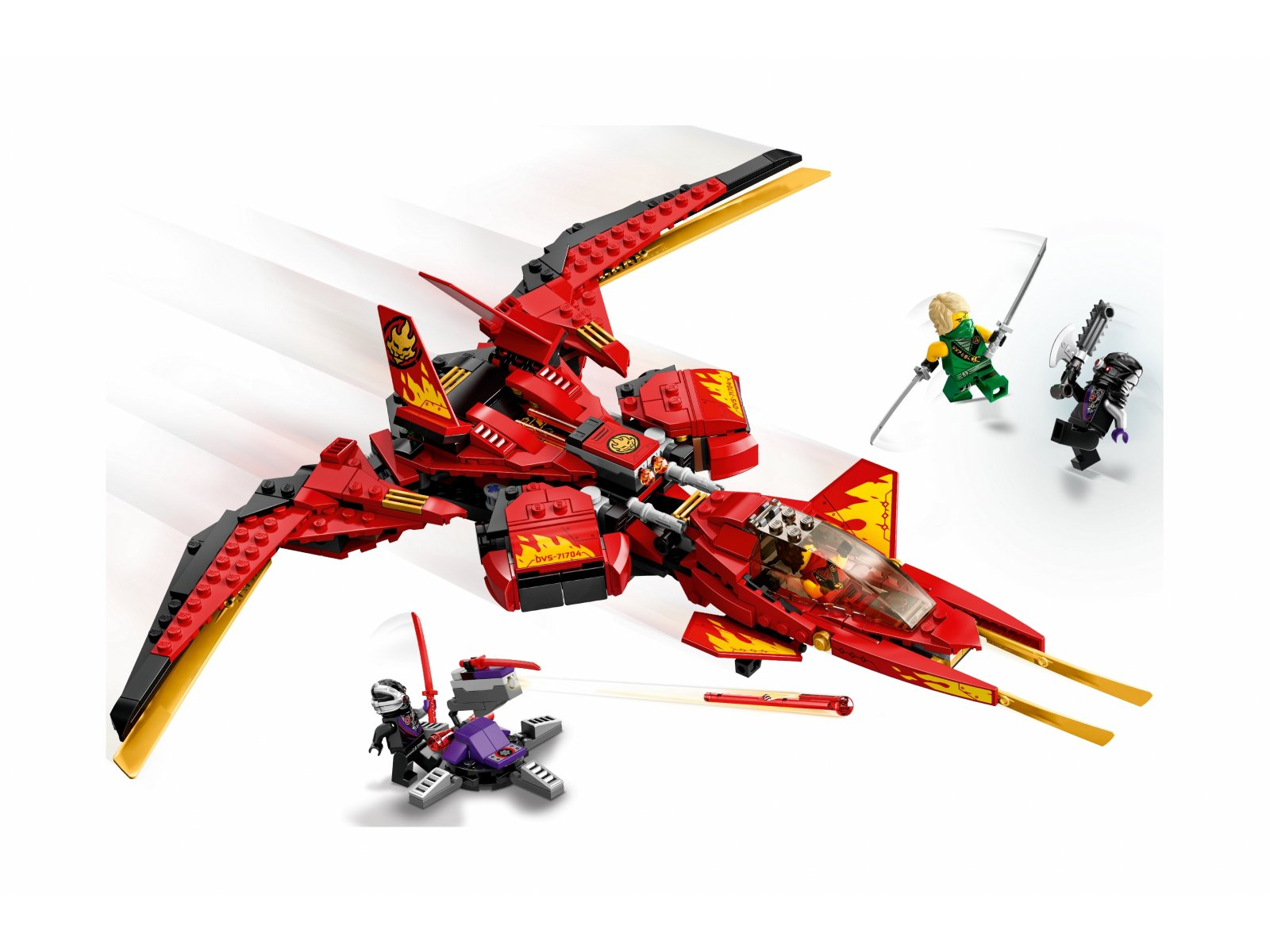 LEGO 71704 Ninjago Pojazd bojowy Kaia