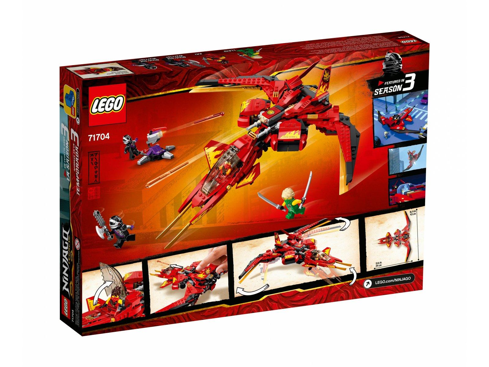 LEGO Ninjago® Pojazd bojowy Kaia 71704