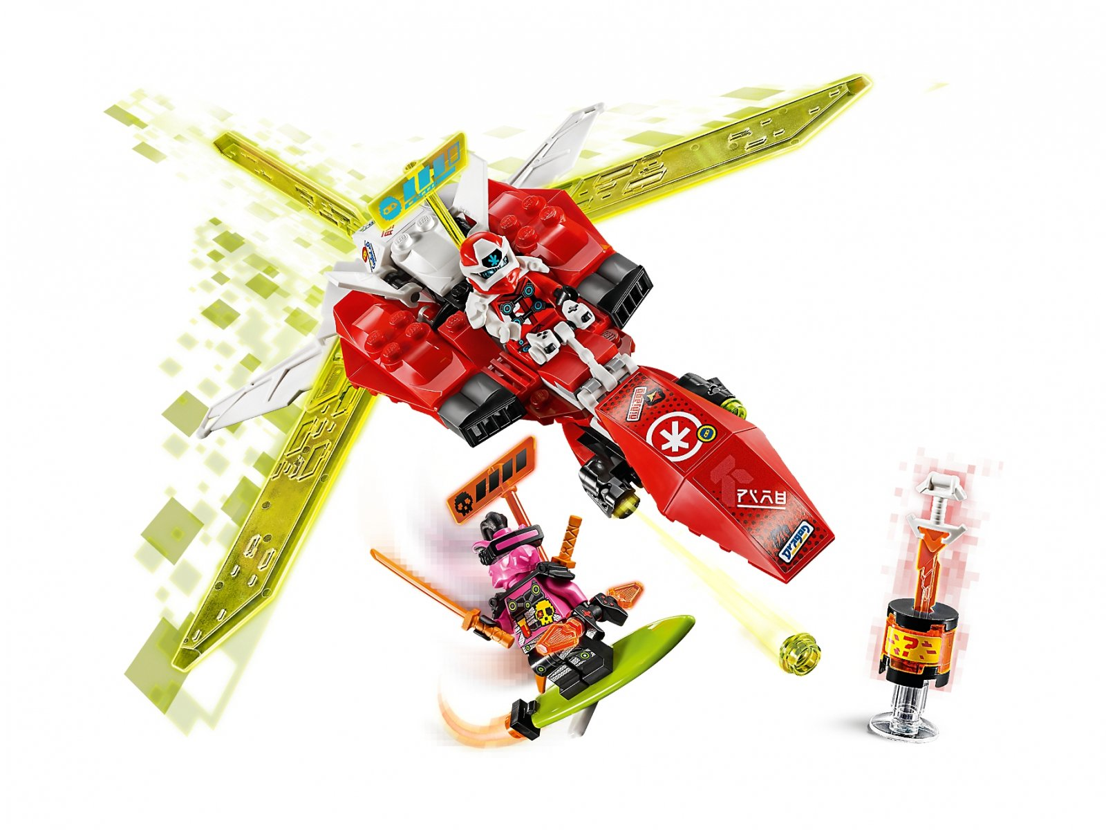 LEGO Ninjago® Robot odrzutowiec Kaia 71707