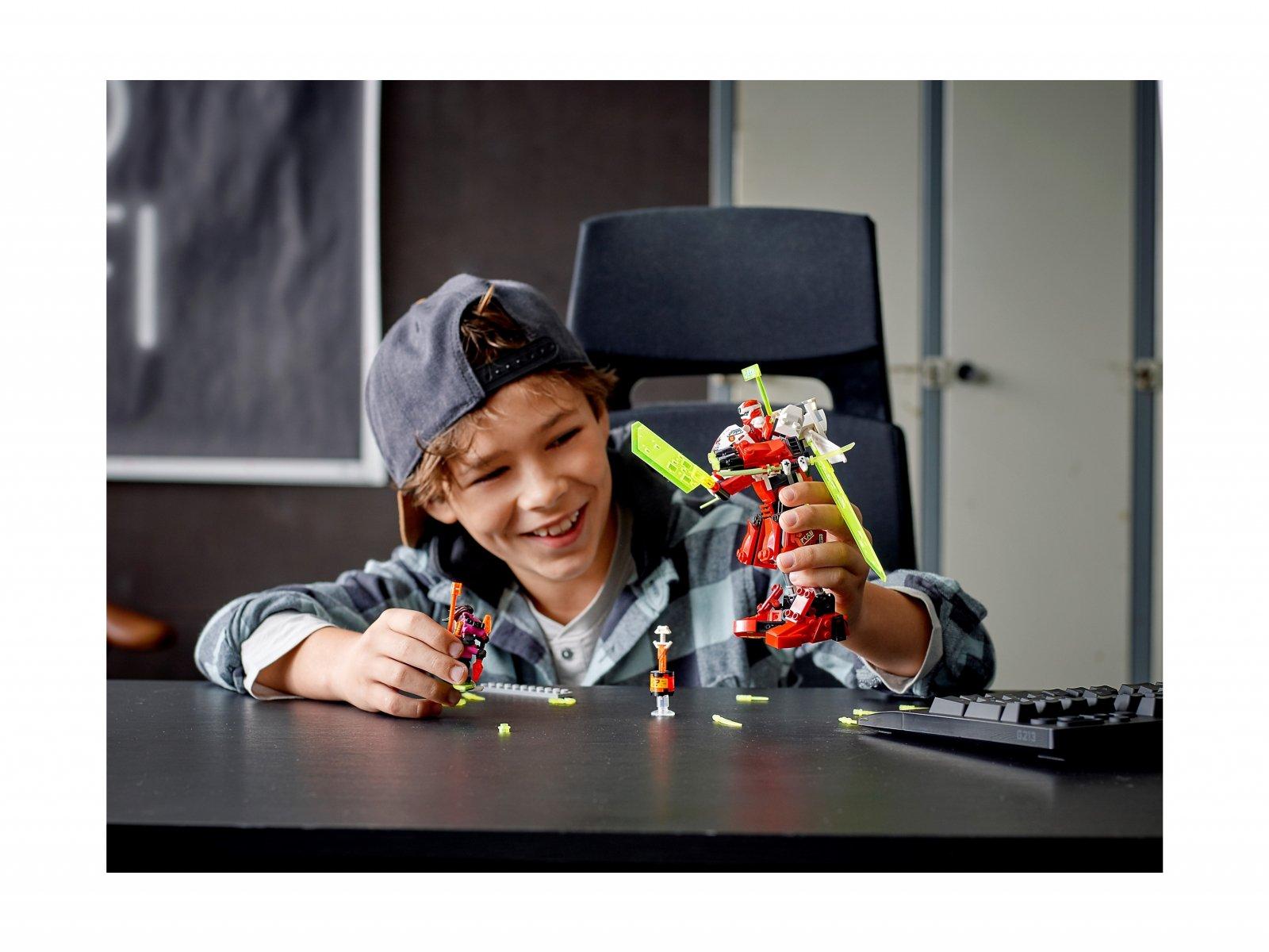 LEGO Ninjago® 71707 Robot odrzutowiec Kaia