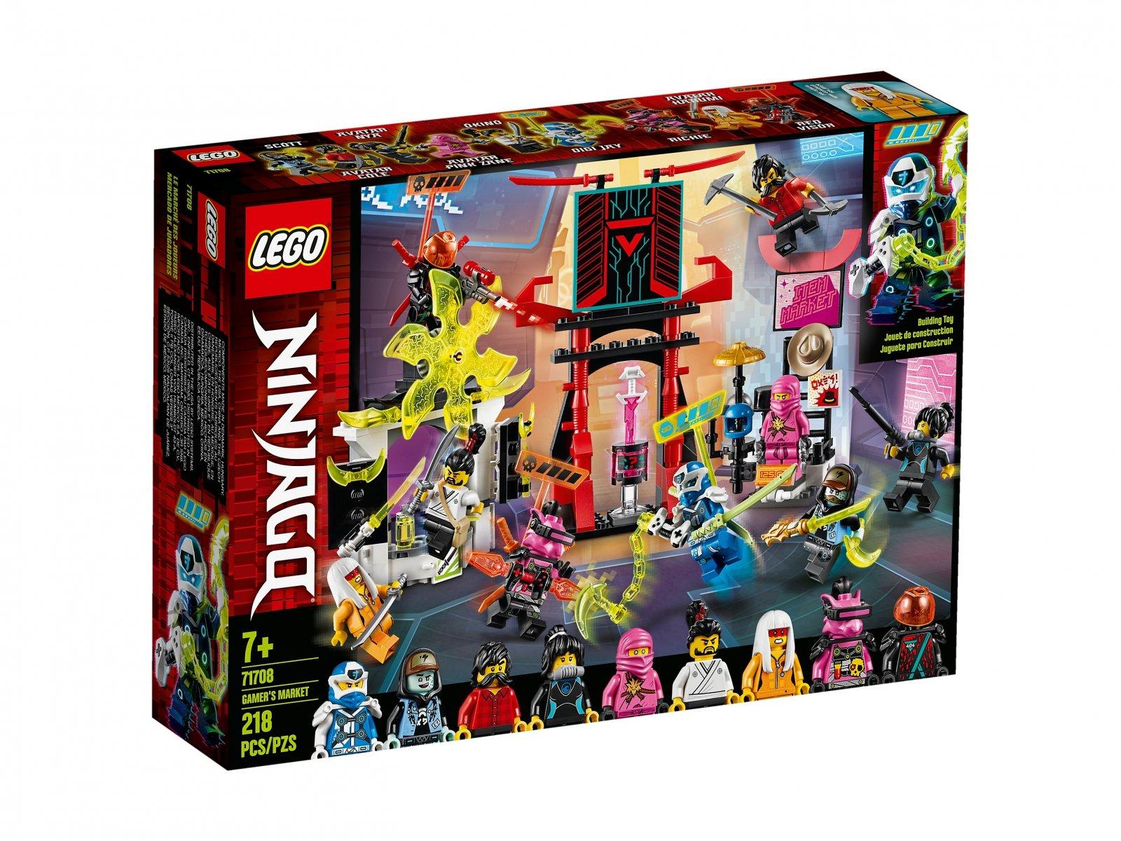 LEGO 71708 Ninjago® Sklep dla graczy